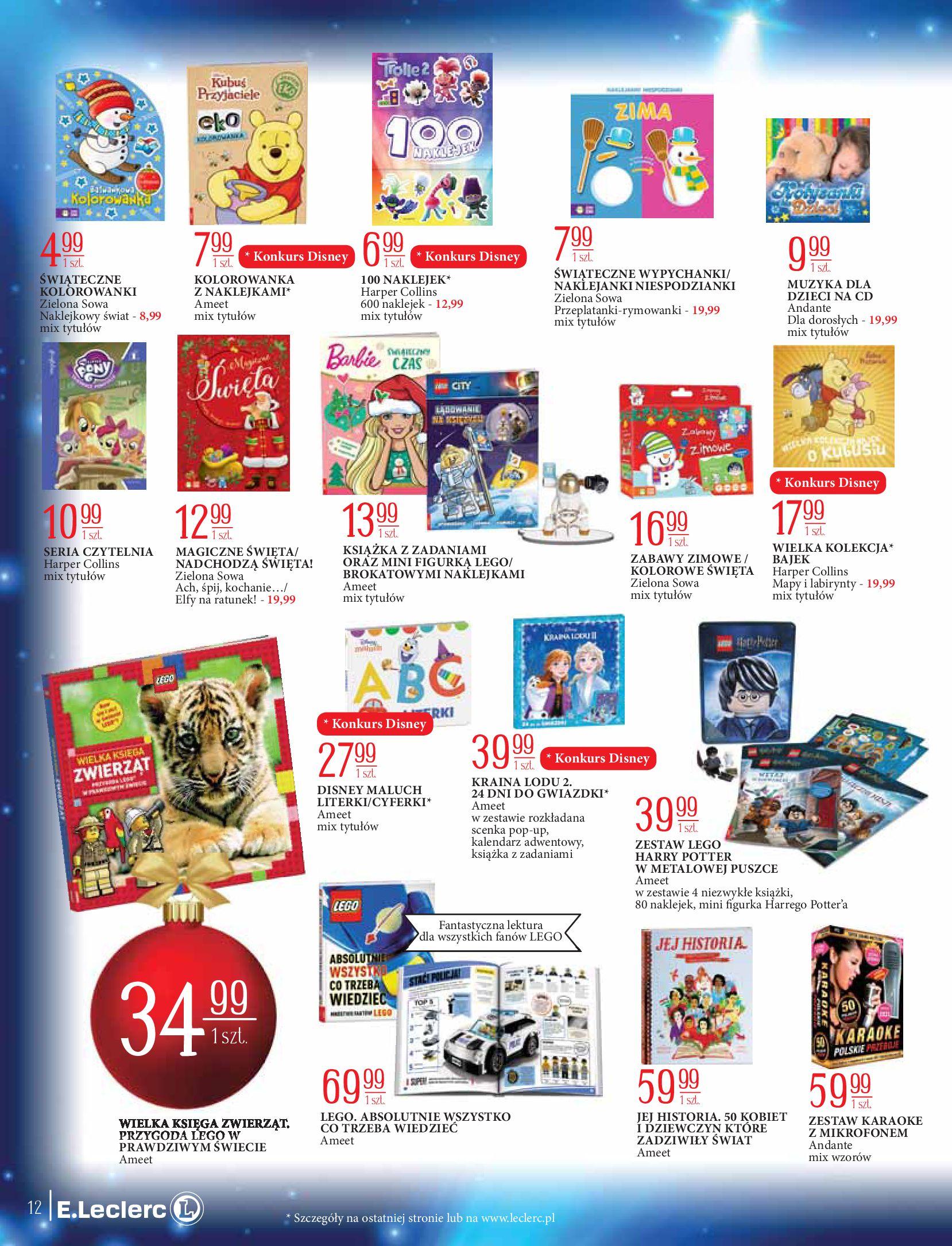 Gazetka E.Leclerc: Świat zabawek i dekoracji 2020-11-10 page-12