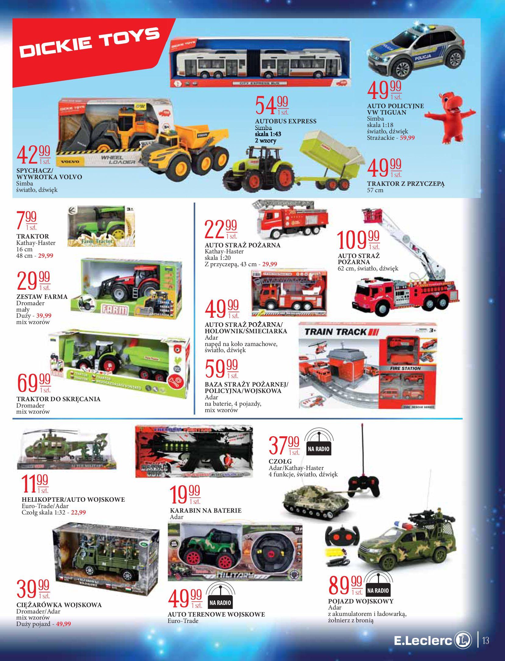 Gazetka E.Leclerc: Świat zabawek i dekoracji 2020-11-10 page-13