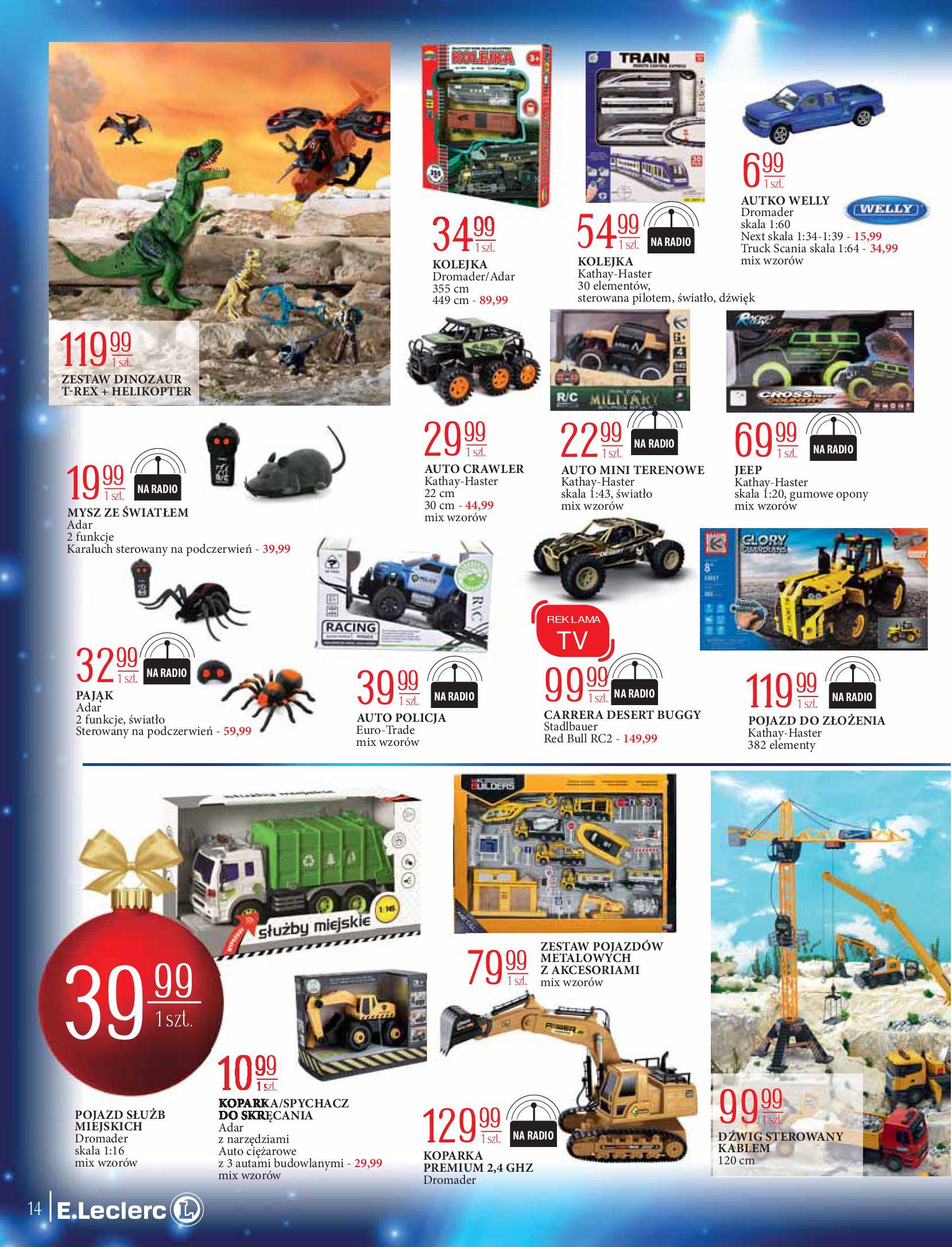 Gazetka E.Leclerc: Świat zabawek i dekoracji 2020-11-10 page-14