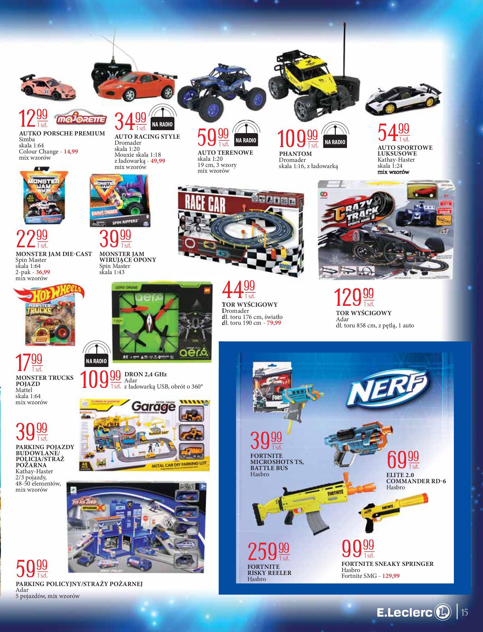 Gazetka E.Leclerc: Świat zabawek i dekoracji 2020-11-10 page-15