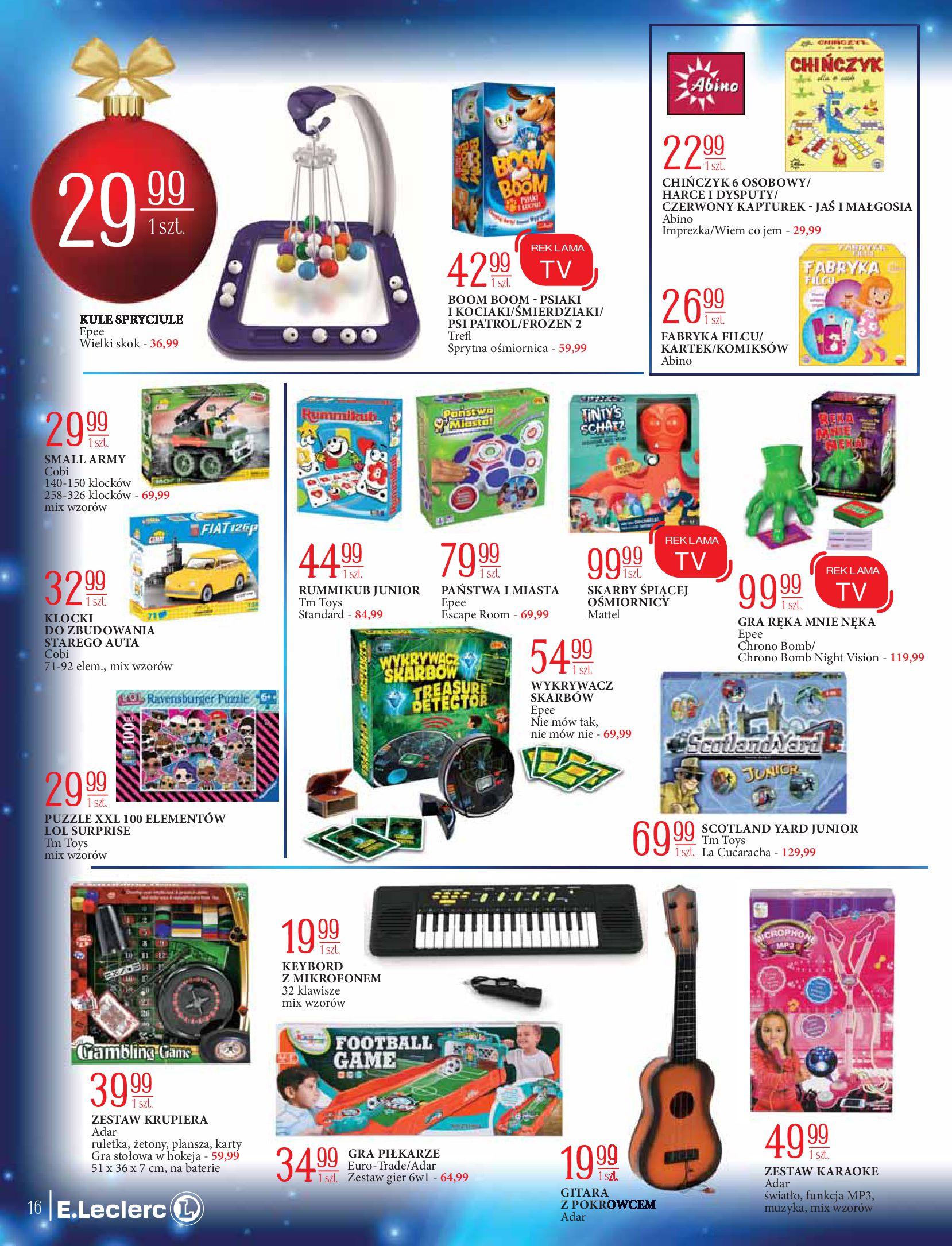Gazetka E.Leclerc: Świat zabawek i dekoracji 2020-11-10 page-16