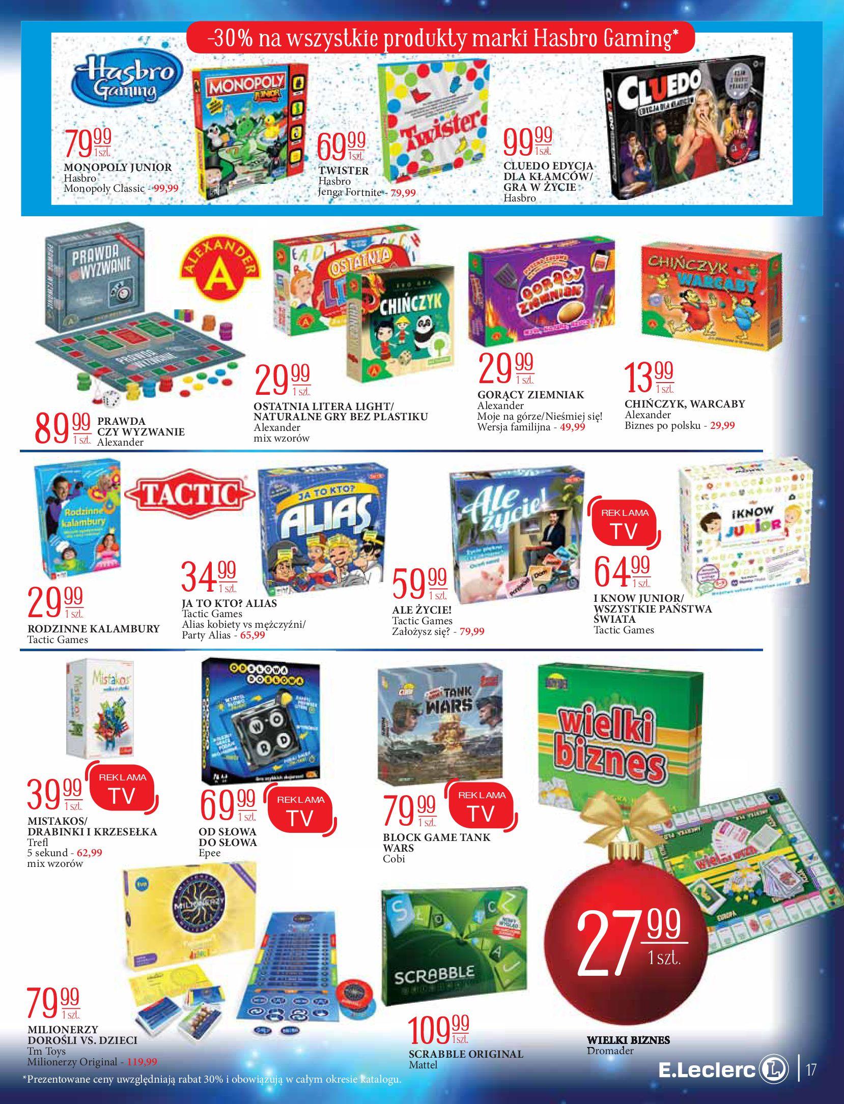 Gazetka E.Leclerc: Świat zabawek i dekoracji 2020-11-10 page-17