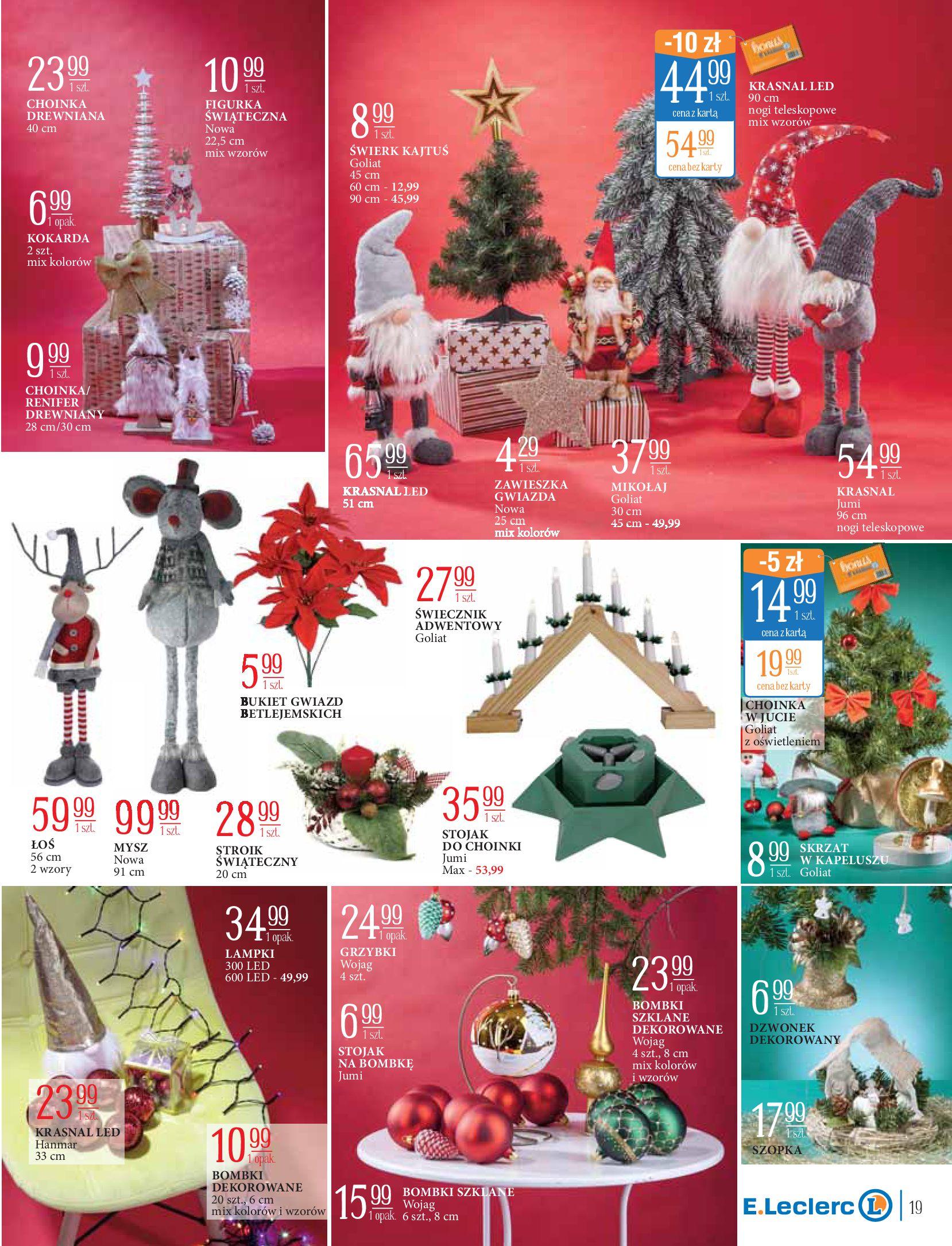 Gazetka E.Leclerc: Świat zabawek i dekoracji 2020-11-10 page-19