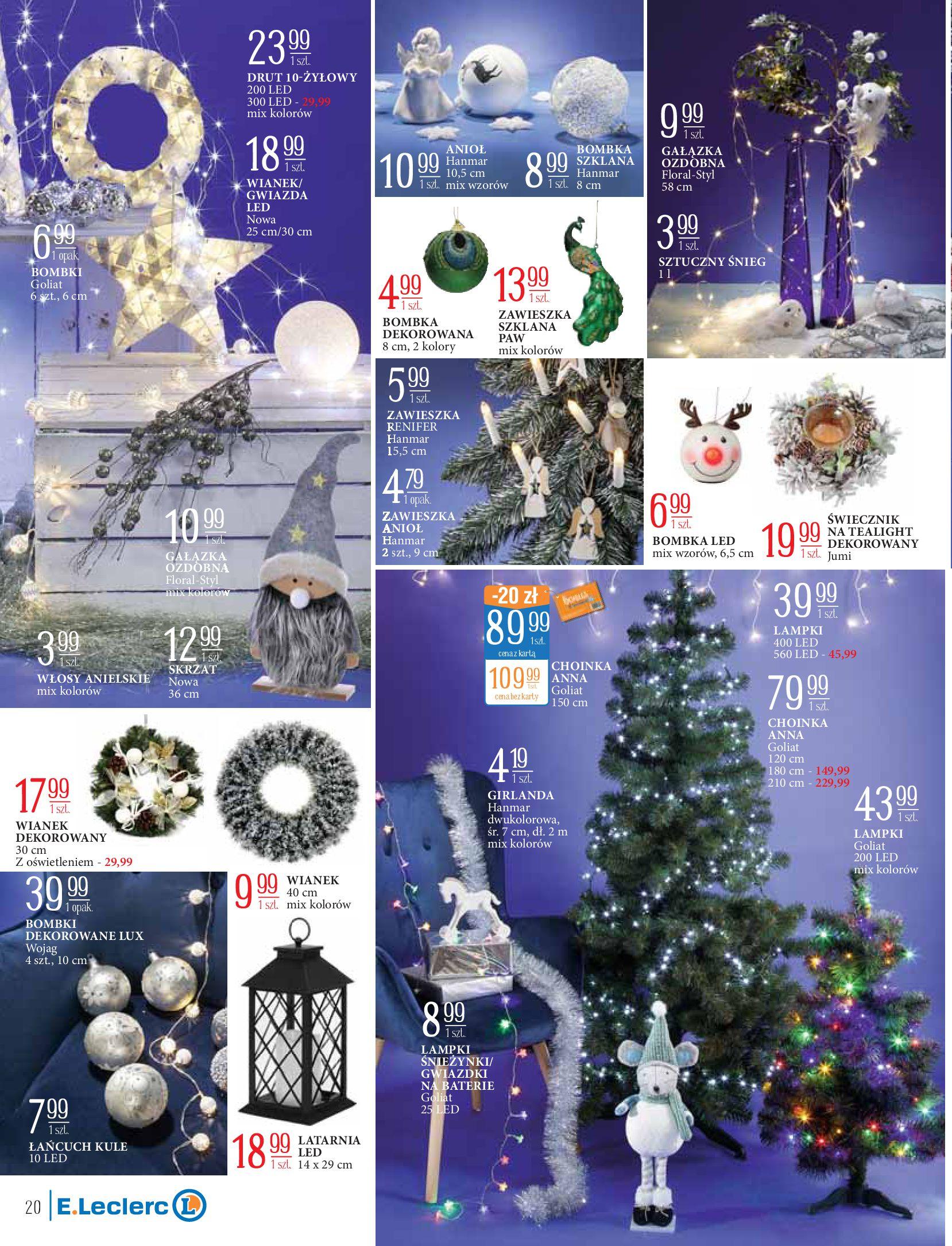 Gazetka E.Leclerc: Świat zabawek i dekoracji 2020-11-10 page-20
