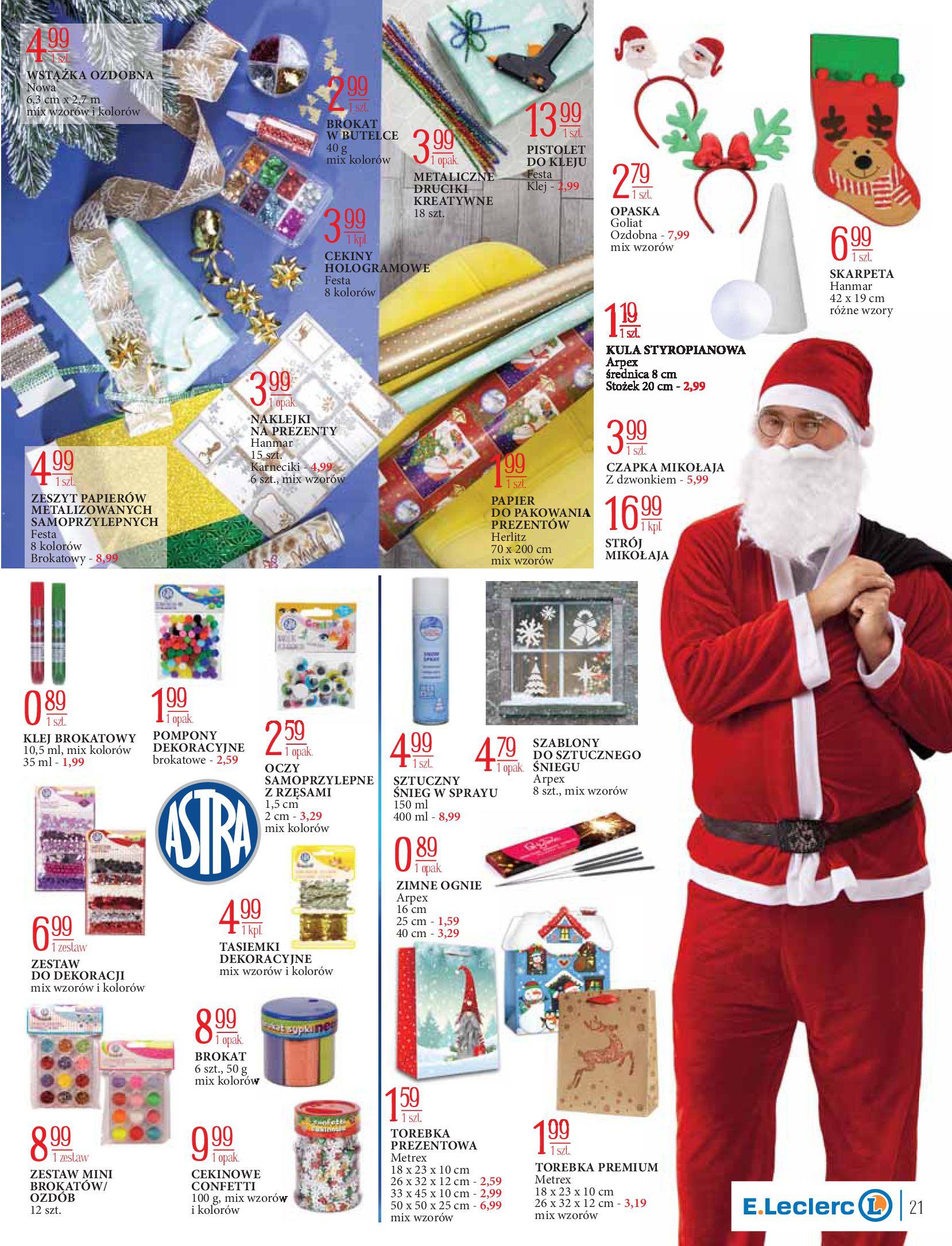 Gazetka E.Leclerc: Świat zabawek i dekoracji 2020-11-10 page-21