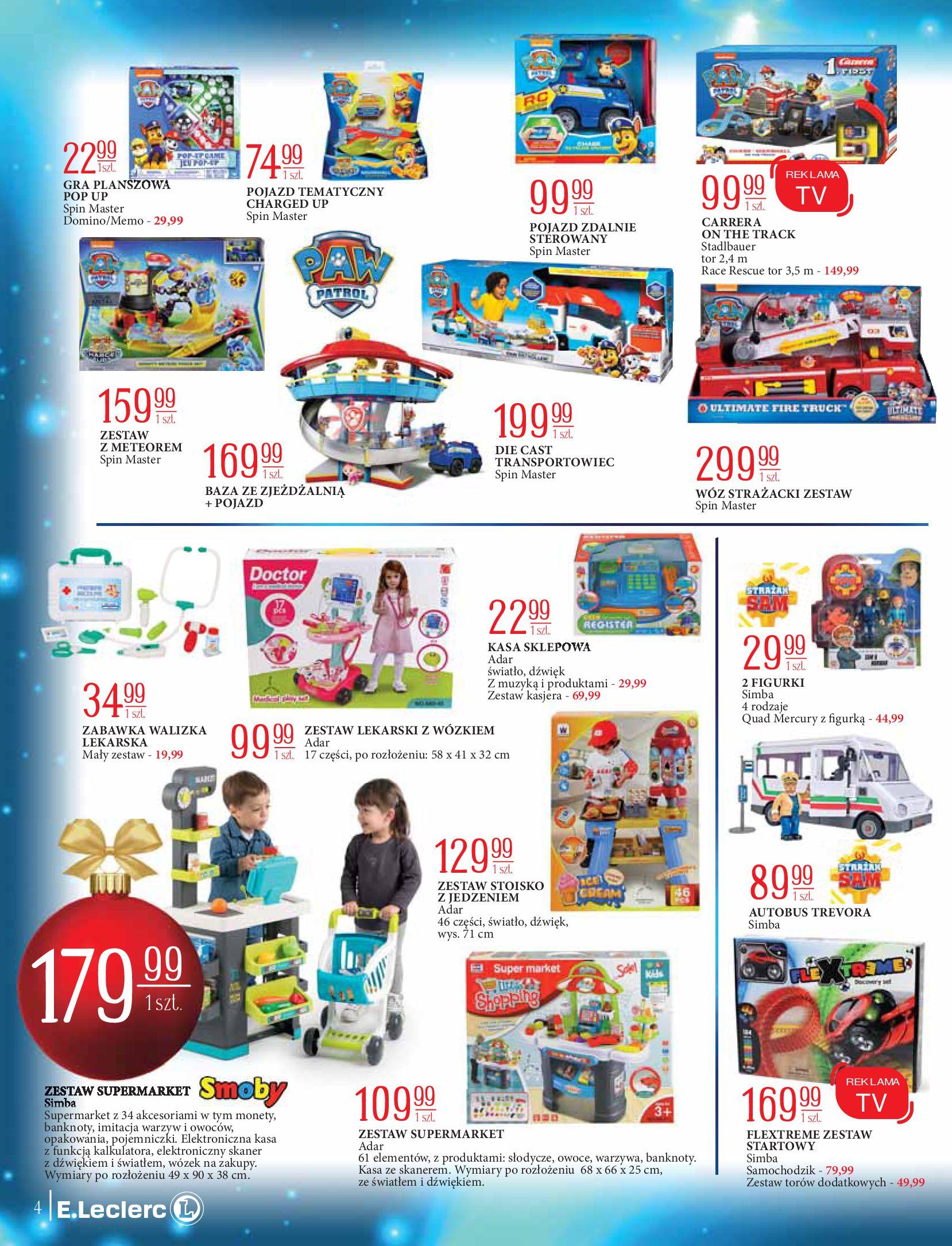 Gazetka E.Leclerc: Świat zabawek i dekoracji 2020-11-10 page-4