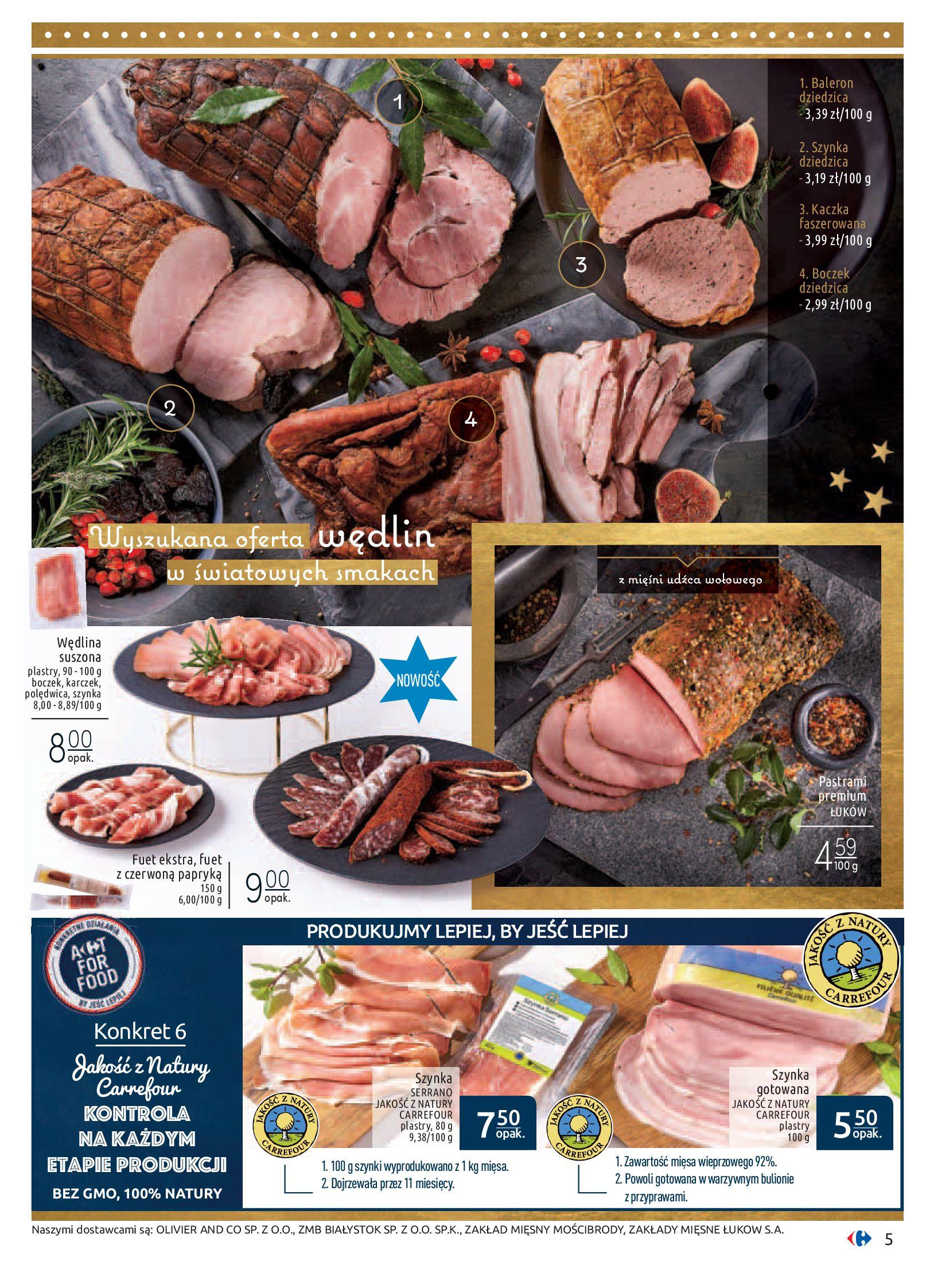 Gazetka Carrefour - Sztuka smakowania-02.12.2019-24.12.2019-page-5