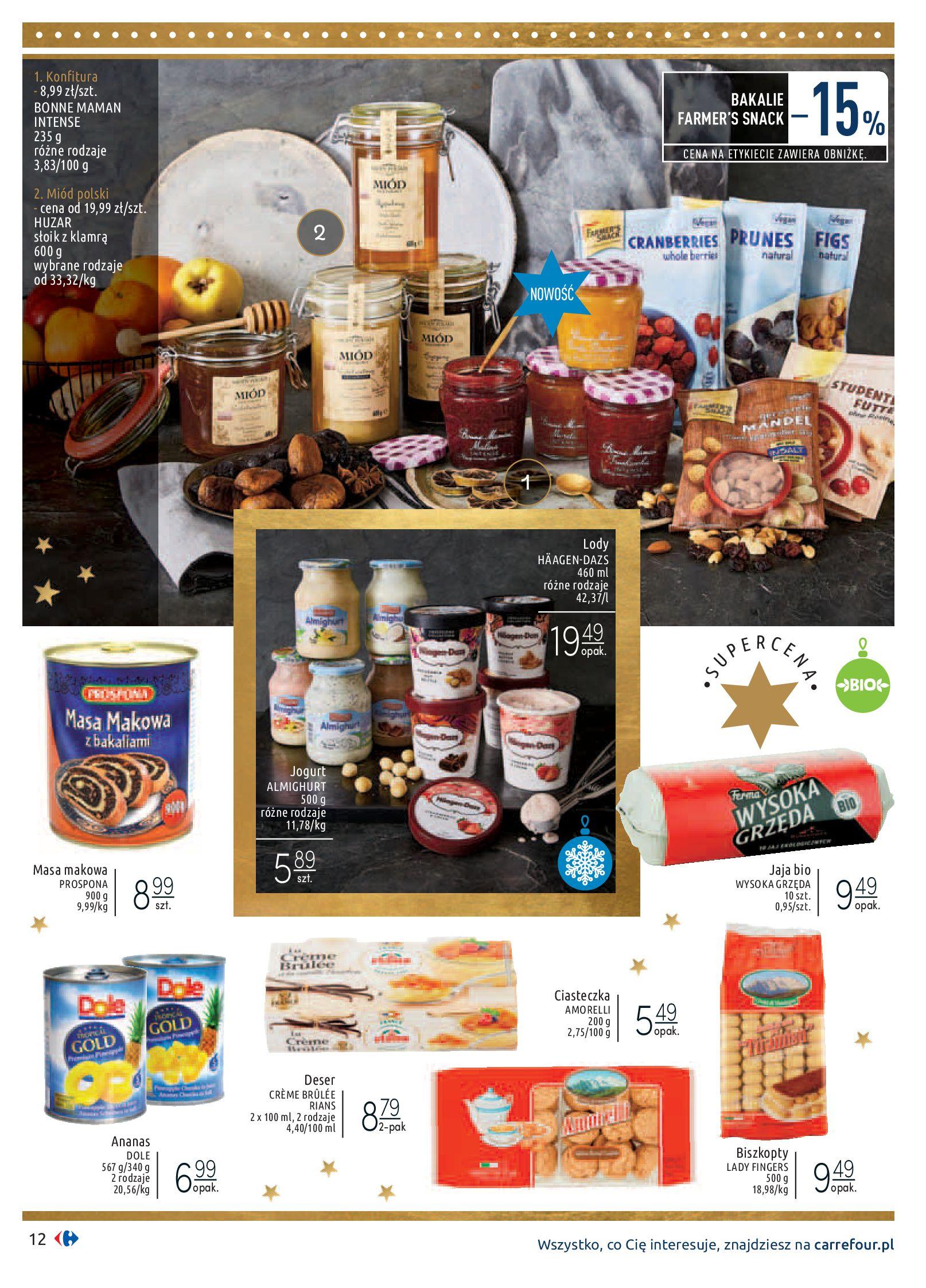 Gazetka Carrefour - Sztuka smakowania-02.12.2019-24.12.2019-page-12