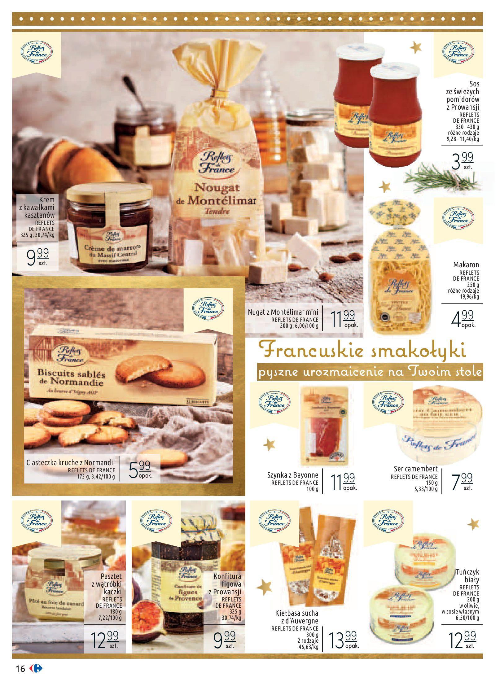 Gazetka Carrefour - Sztuka smakowania-02.12.2019-24.12.2019-page-16