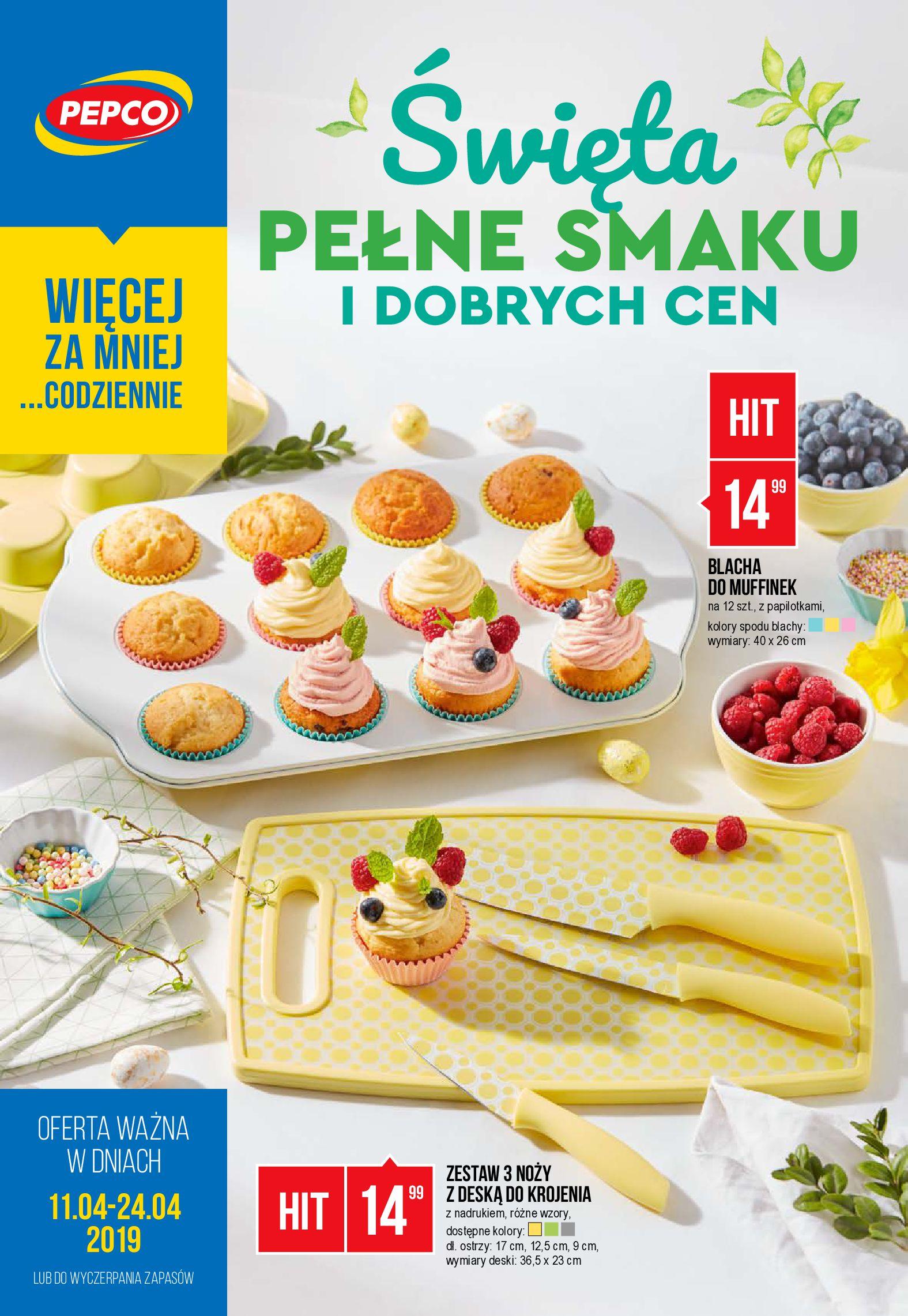 Gazetka Pepco - Święta pełne smaku i dobrych cen-10.04.2019-24.04.2019-page-