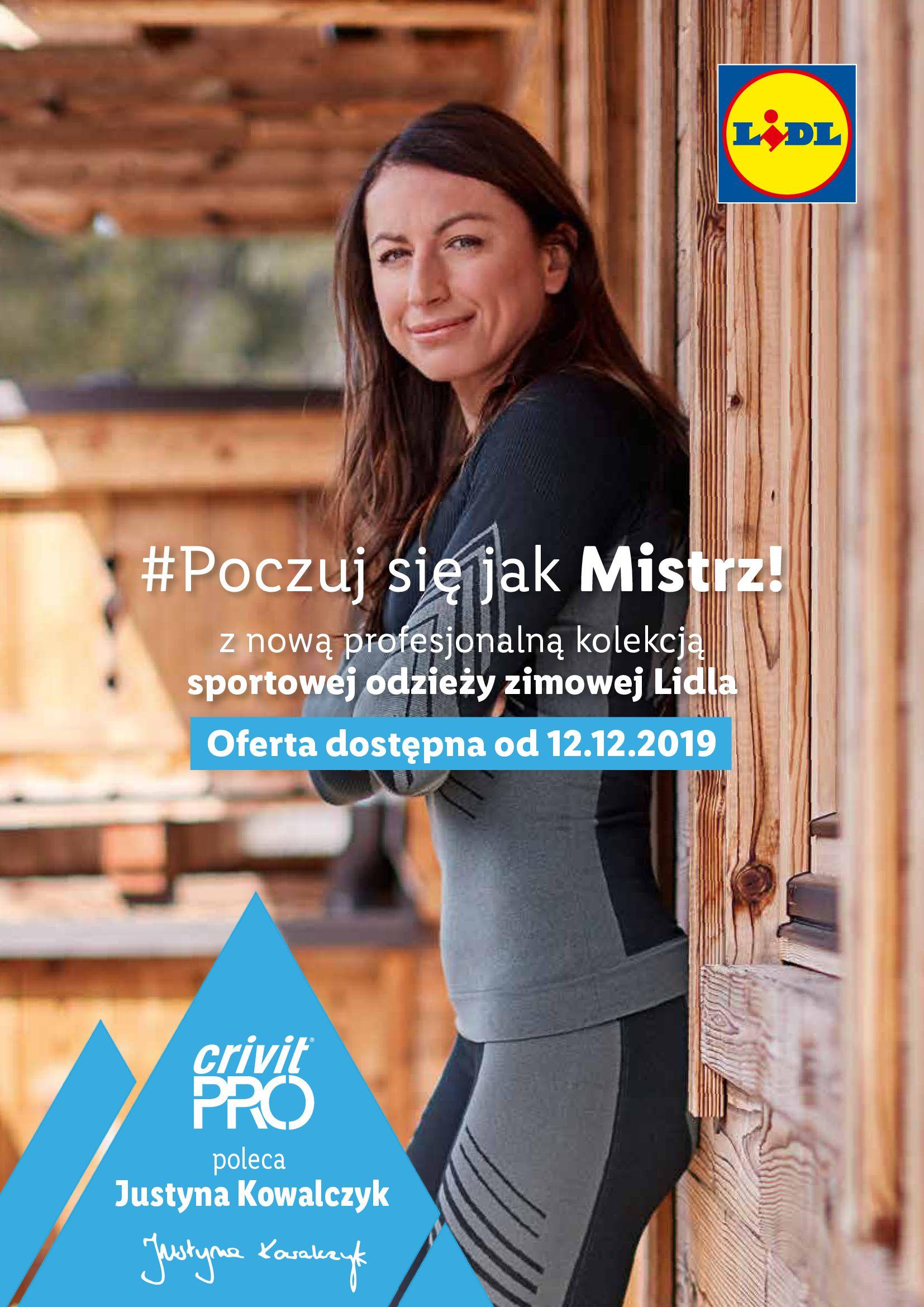 Gazetka Lidl - #Poczuj się jak Mistrz!-11.12.2019-22.12.2019-page-1