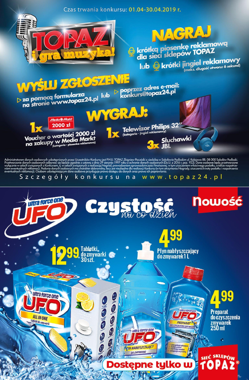 Gazetka TOPAZ - Oferta na art. spożywcze-10.04.2019-24.04.2019-page-