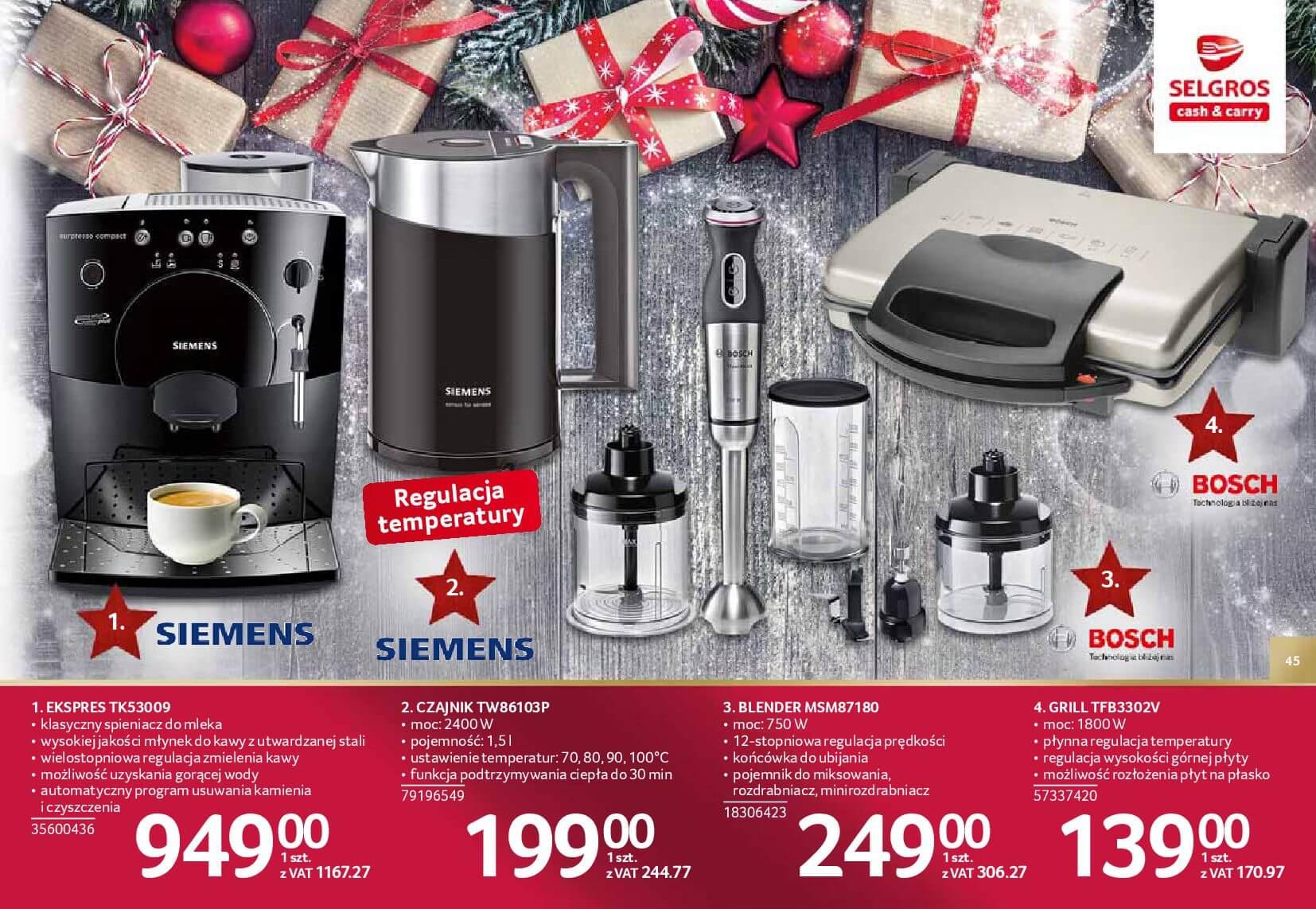 Gazetka Selgros - Katalog prezenty 2017-20.11.2017-24.12.2017-page-45