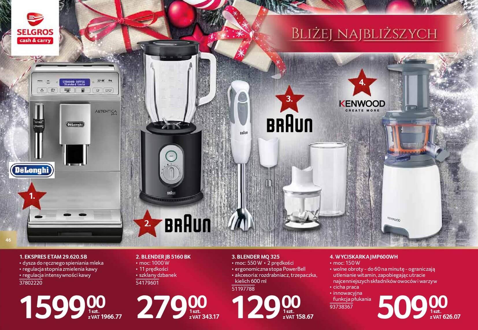 Gazetka Selgros - Katalog prezenty 2017-20.11.2017-24.12.2017-page-46