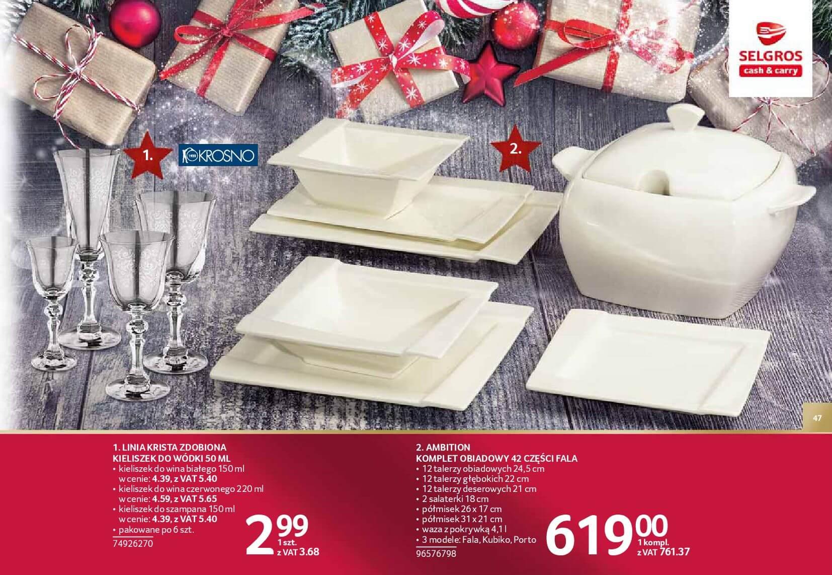 Gazetka Selgros - Katalog prezenty 2017-20.11.2017-24.12.2017-page-47