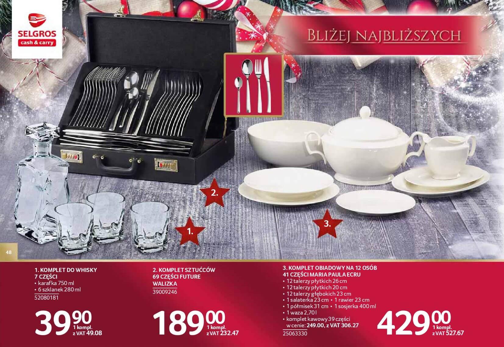 Gazetka Selgros - Katalog prezenty 2017-20.11.2017-24.12.2017-page-48