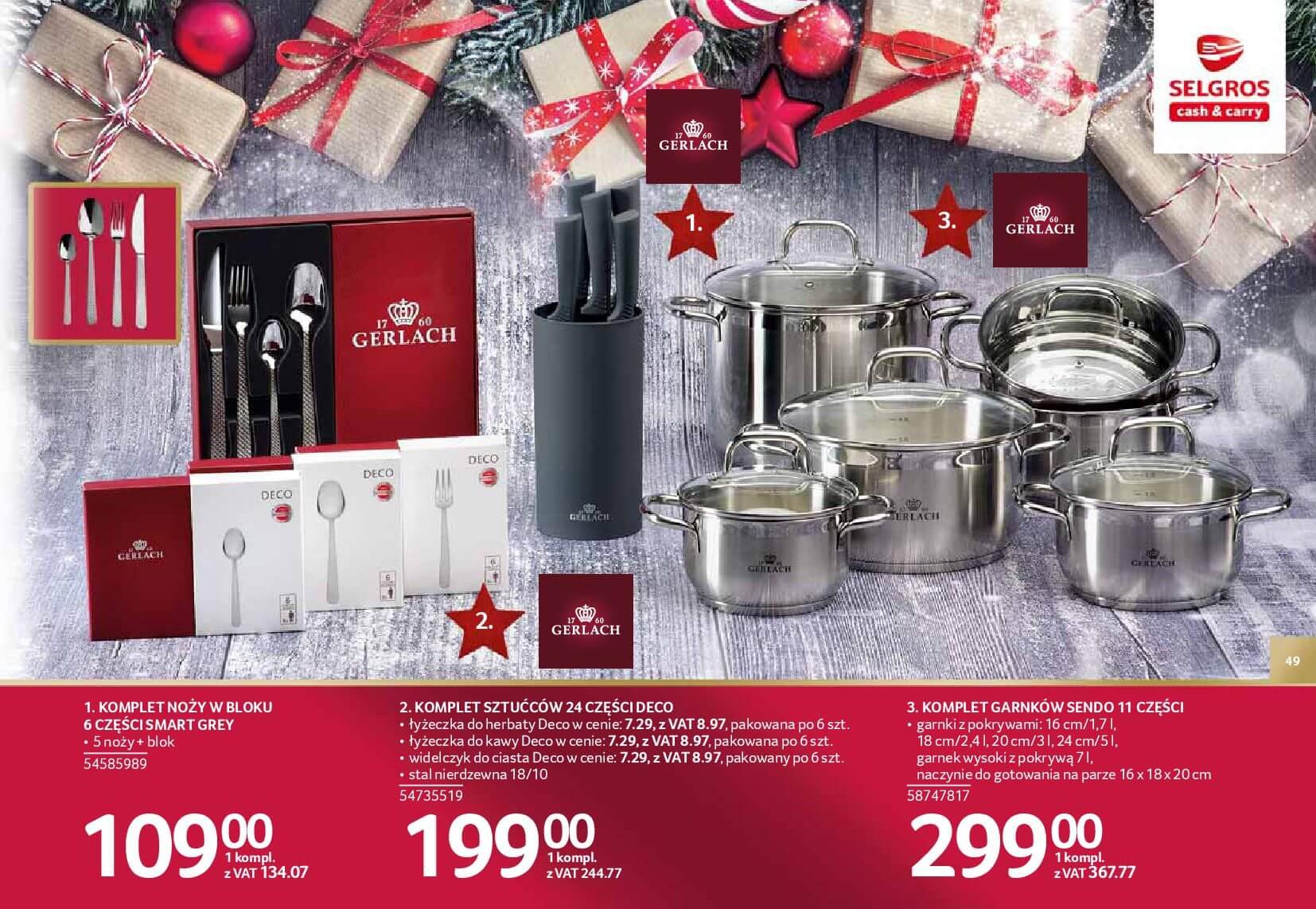 Gazetka Selgros - Katalog prezenty 2017-20.11.2017-24.12.2017-page-49