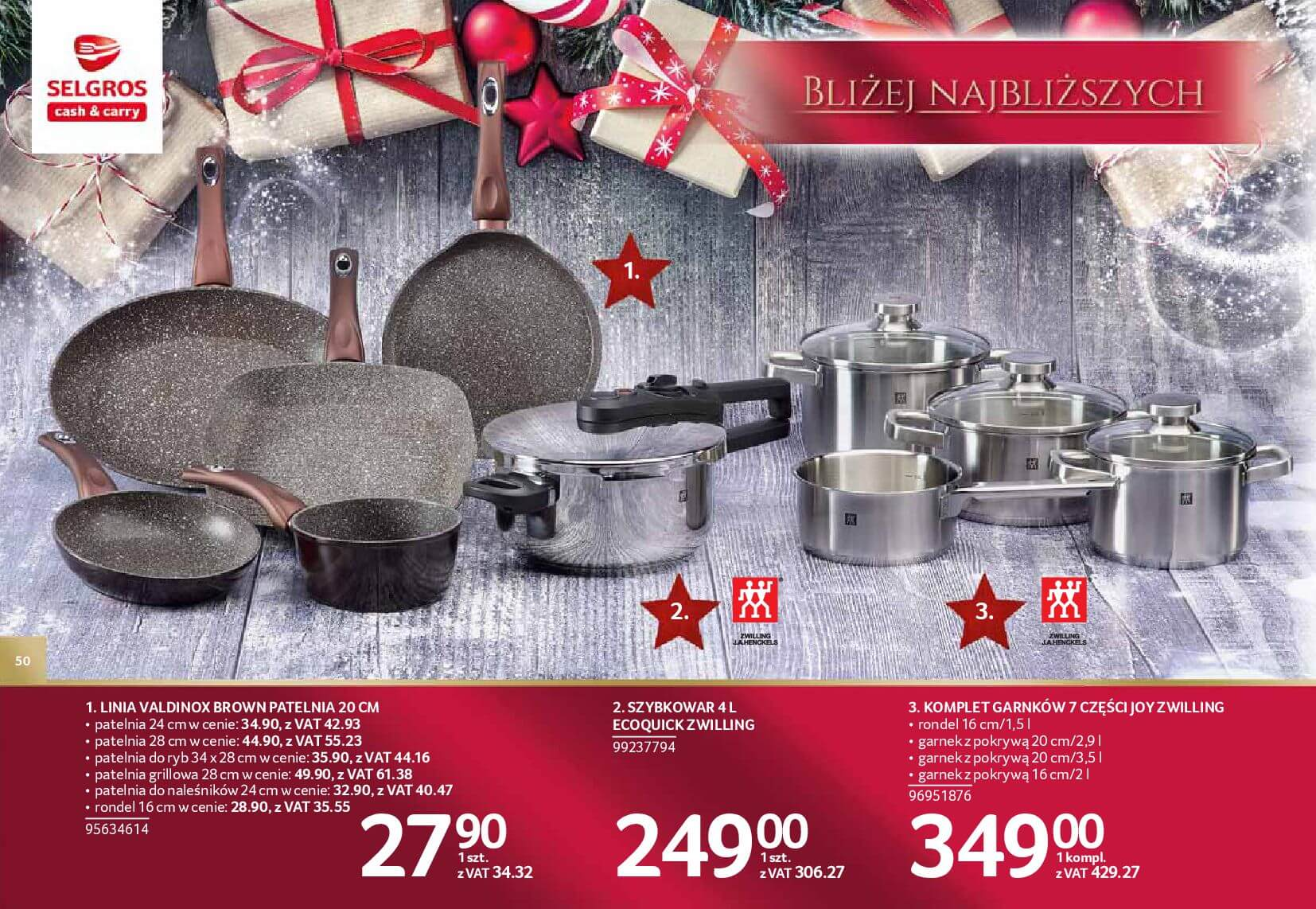 Gazetka Selgros - Katalog prezenty 2017-20.11.2017-24.12.2017-page-50