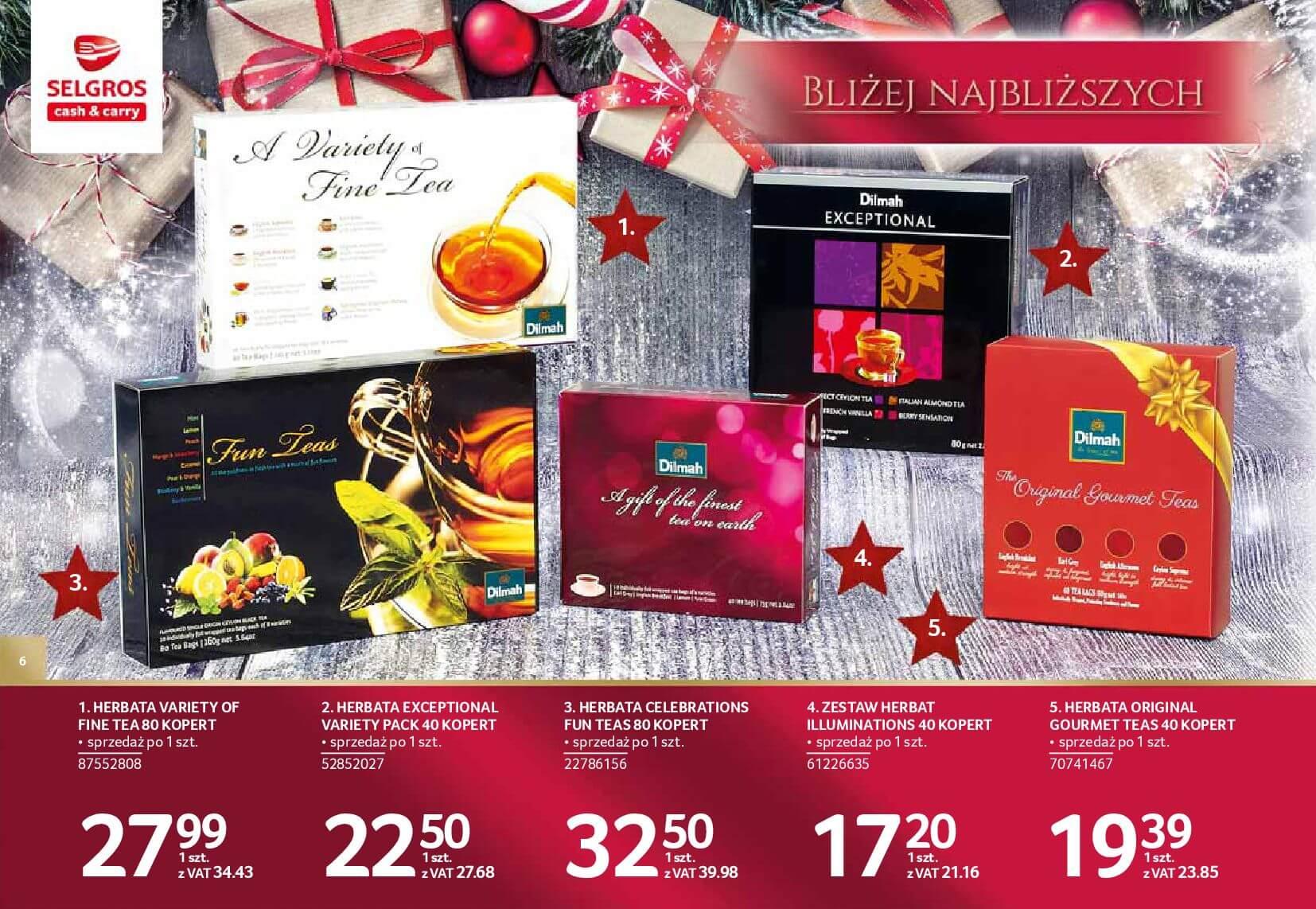 Gazetka Selgros - Katalog prezenty 2017-20.11.2017-24.12.2017-page-6
