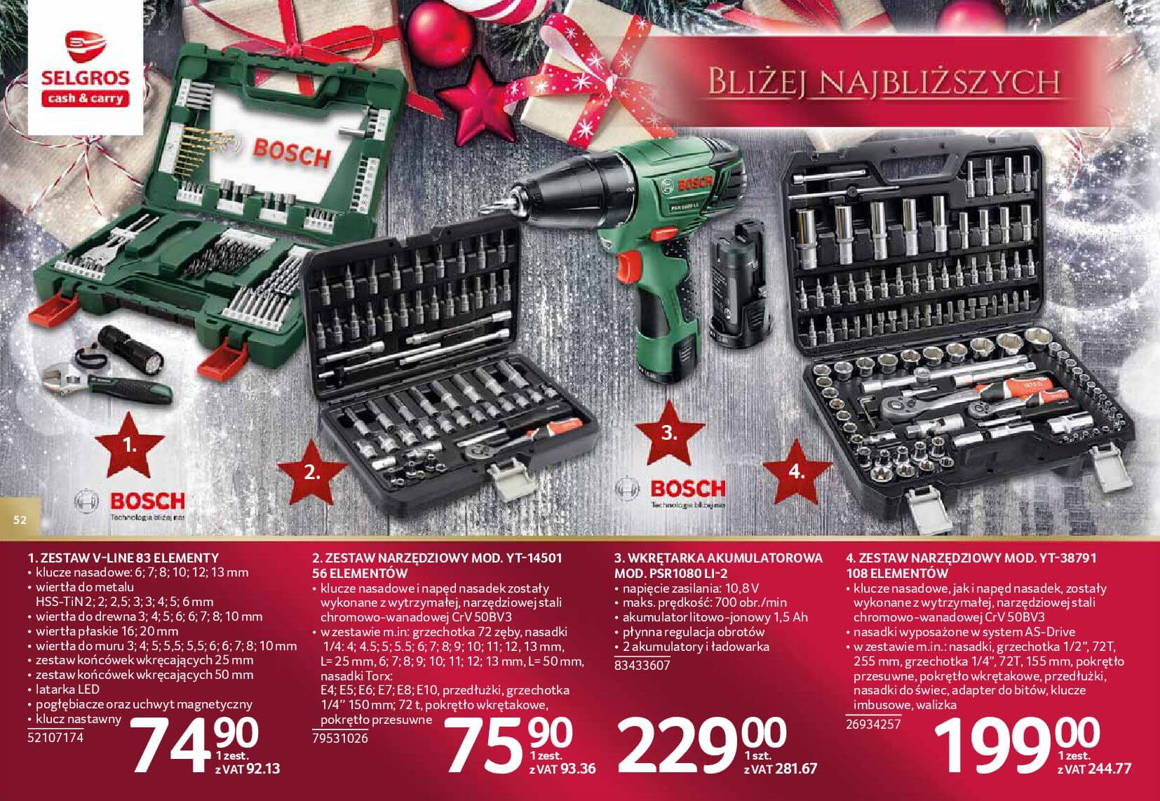 Gazetka Selgros - Katalog prezenty 2017-20.11.2017-24.12.2017-page-52