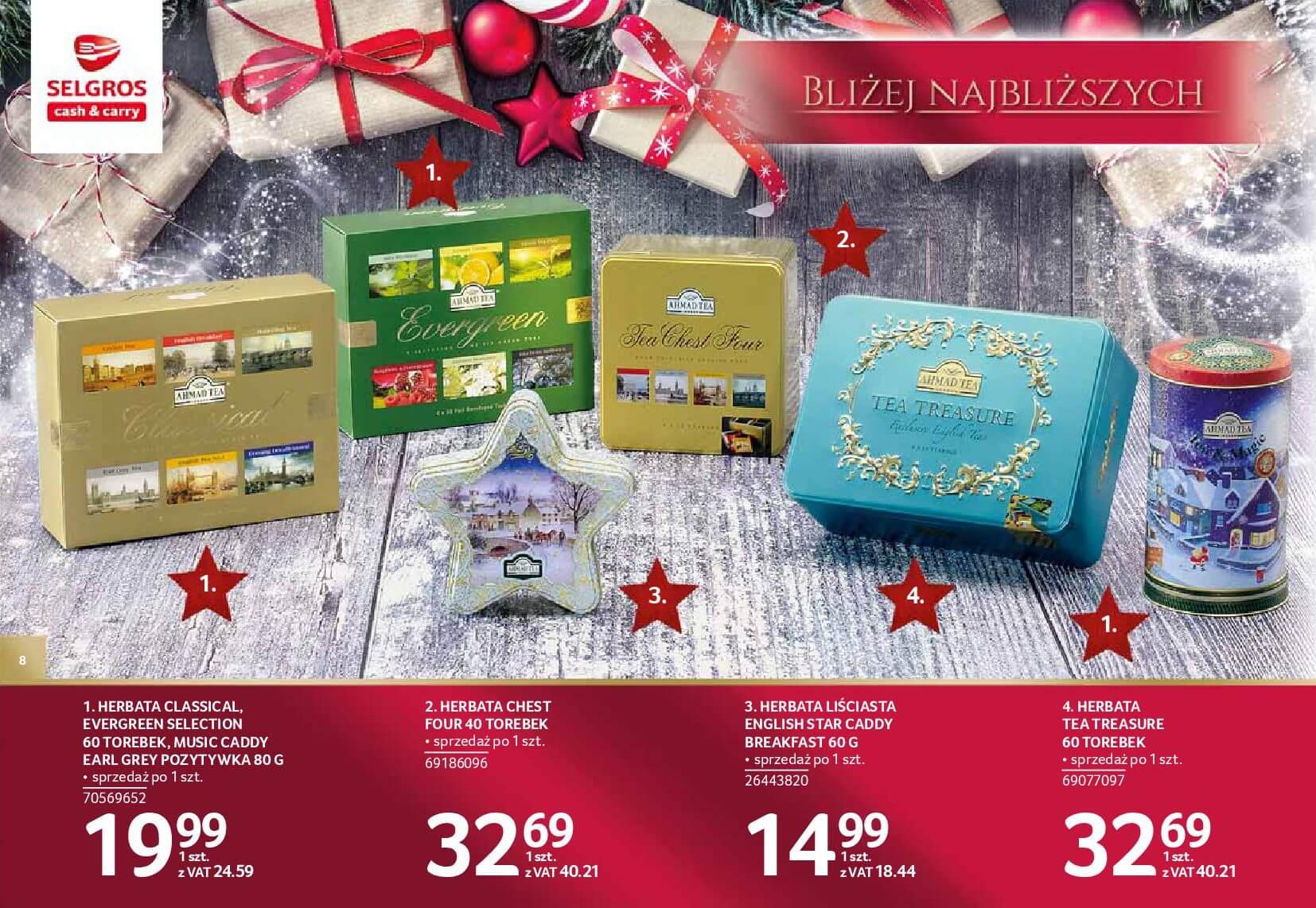 Gazetka Selgros - Katalog prezenty 2017-20.11.2017-24.12.2017-page-8