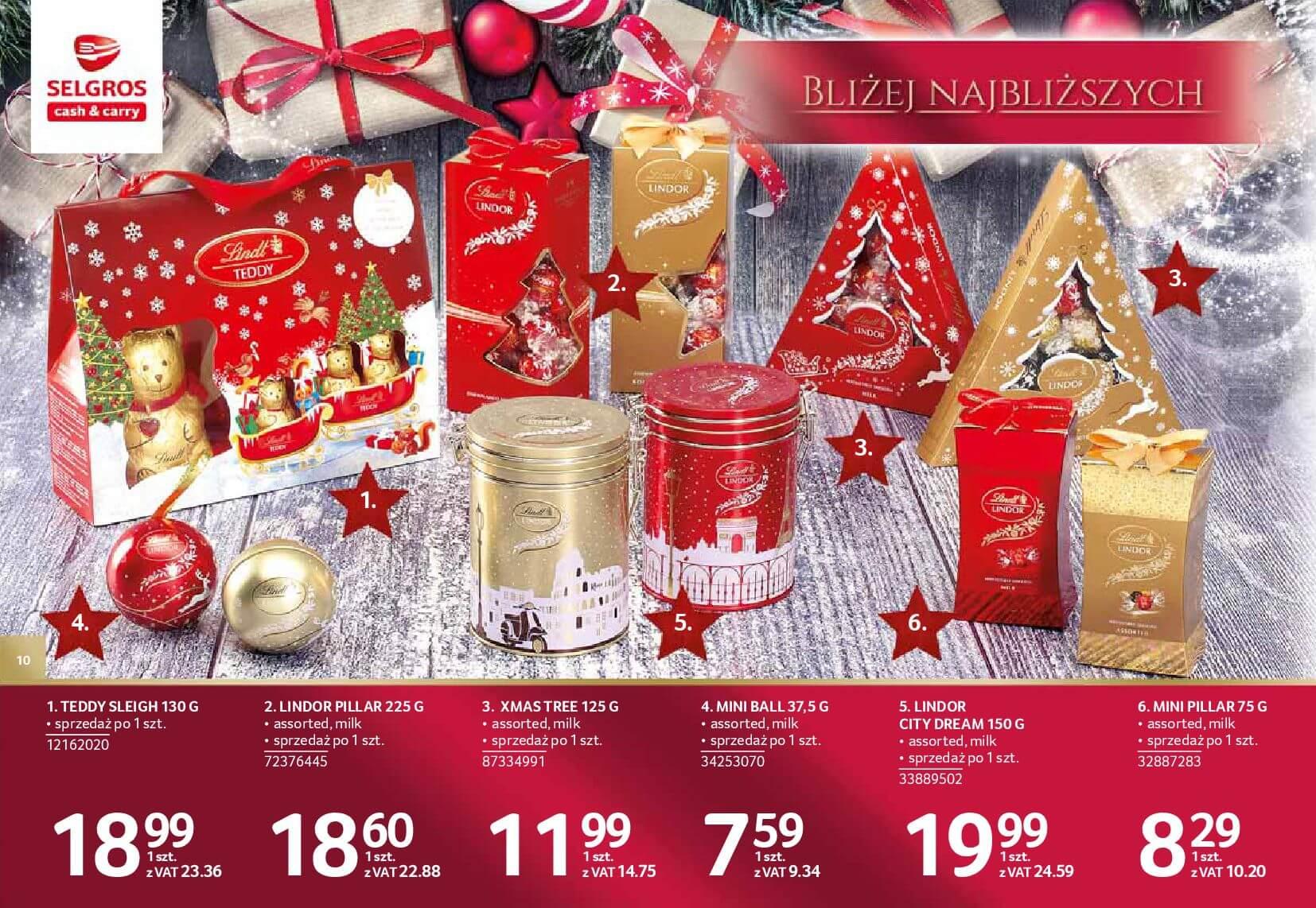 Gazetka Selgros - Katalog prezenty 2017-20.11.2017-24.12.2017-page-10