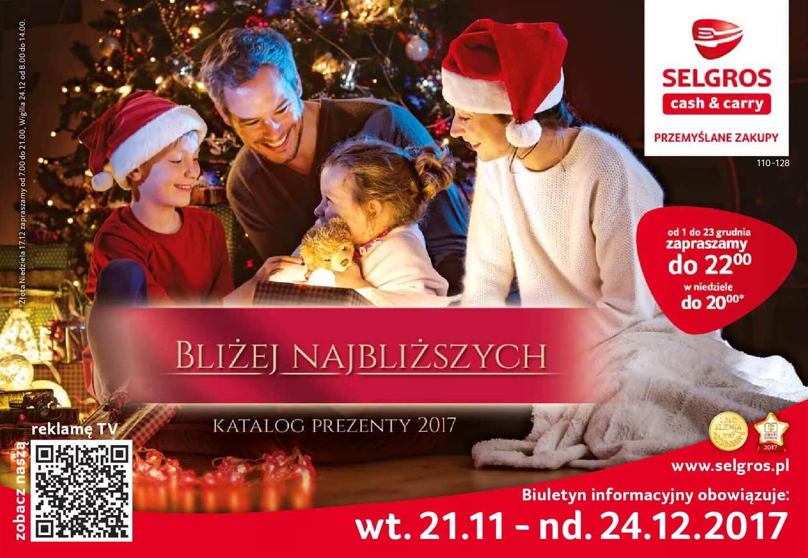 Gazetka Selgros - Katalog prezenty 2017-20.11.2017-24.12.2017-page-1