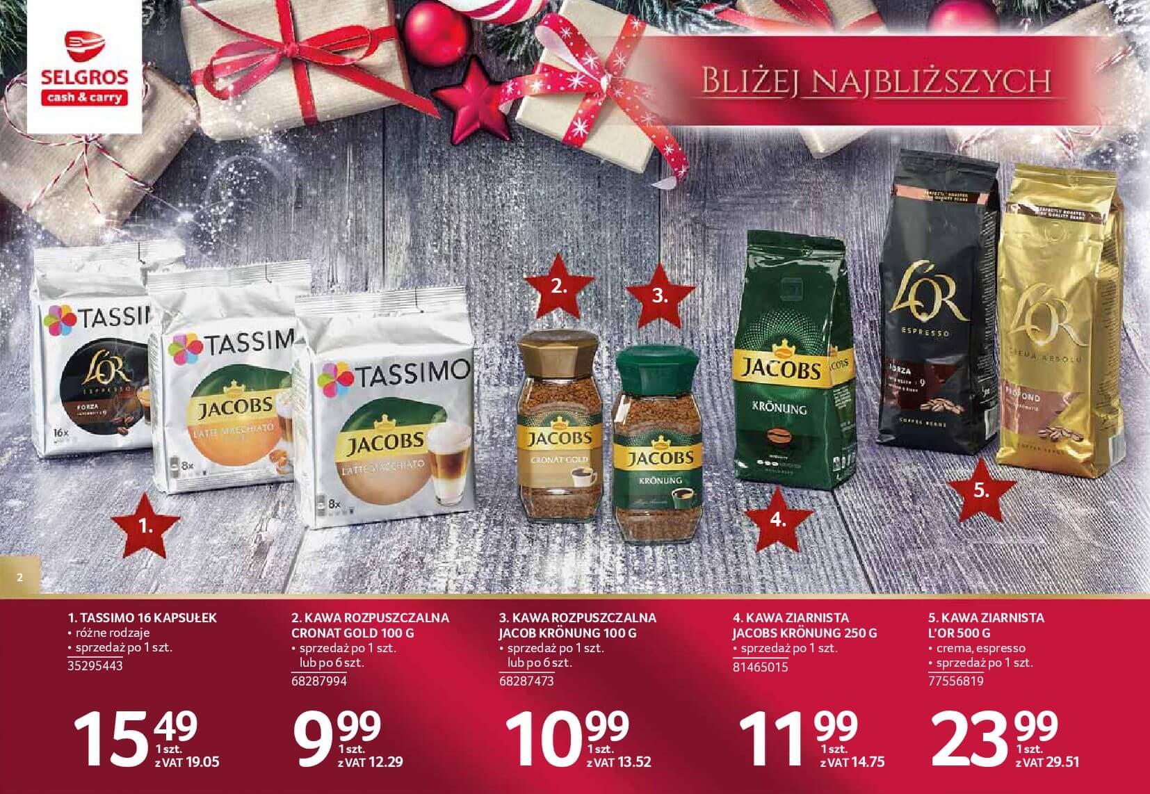 Gazetka Selgros - Katalog prezenty 2017-20.11.2017-24.12.2017-page-2