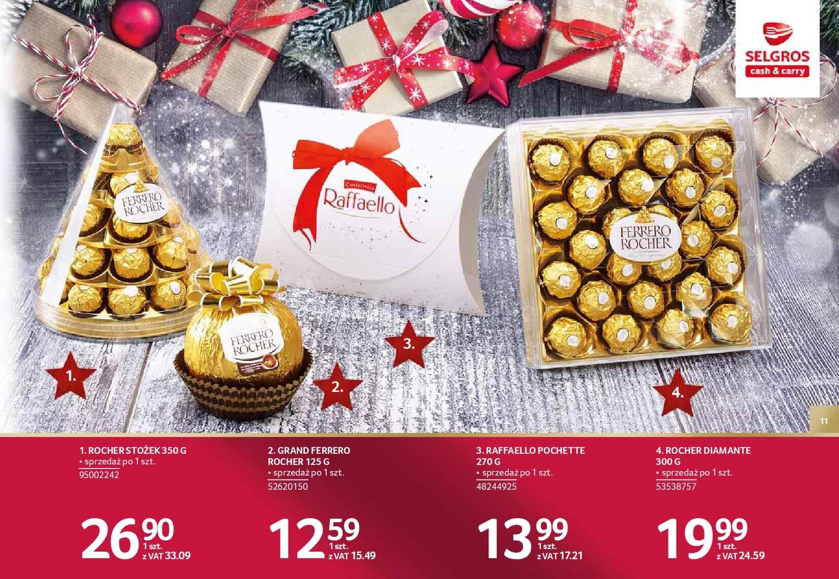 Gazetka Selgros - Katalog prezenty 2017-20.11.2017-24.12.2017-page-11