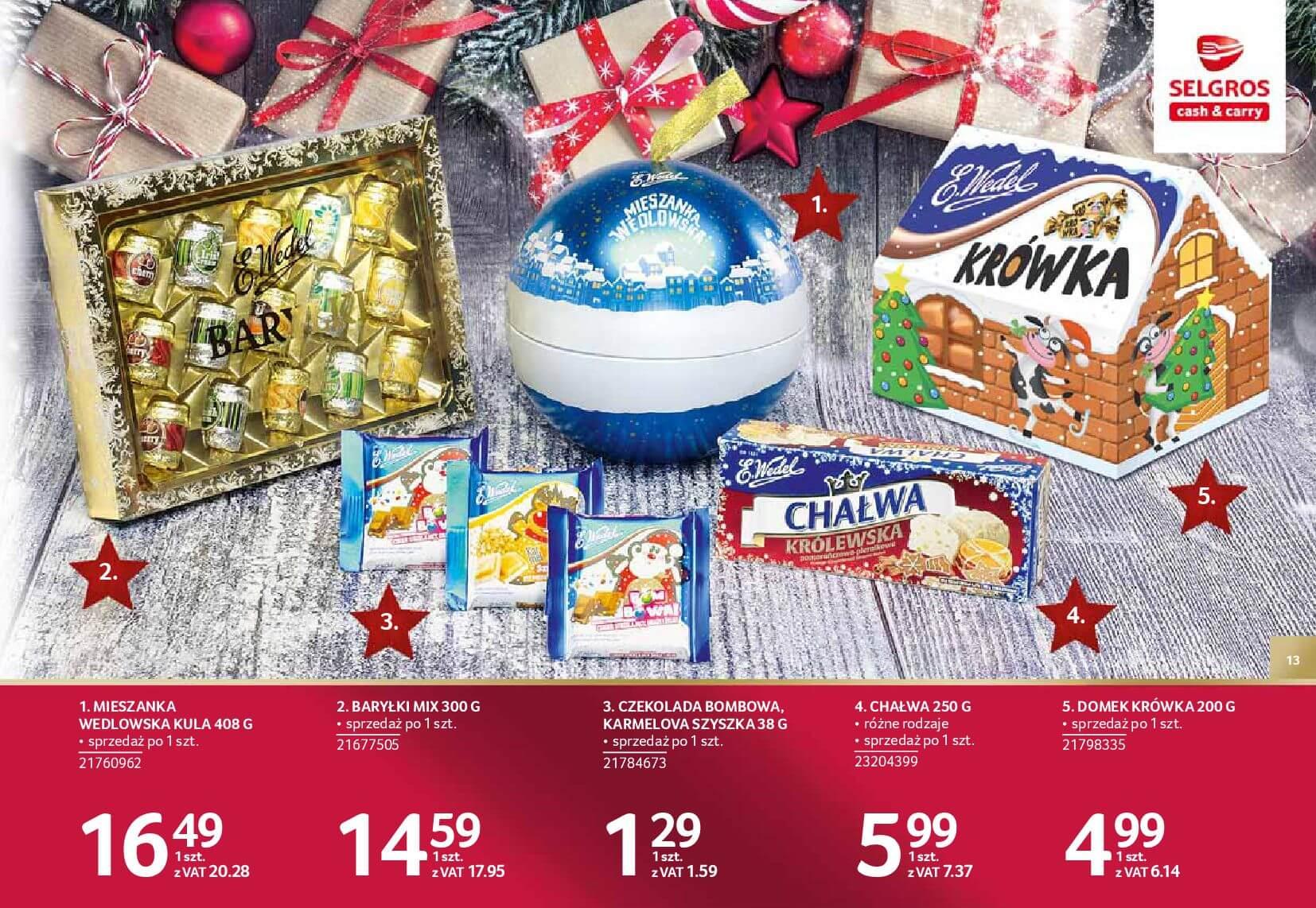 Gazetka Selgros - Katalog prezenty 2017-20.11.2017-24.12.2017-page-13