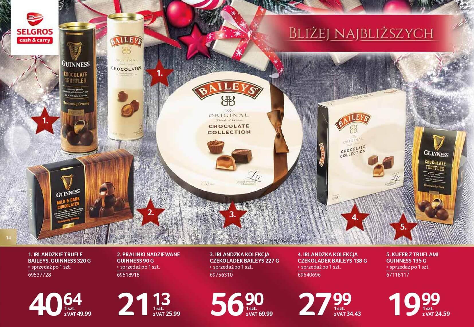 Gazetka Selgros - Katalog prezenty 2017-20.11.2017-24.12.2017-page-14