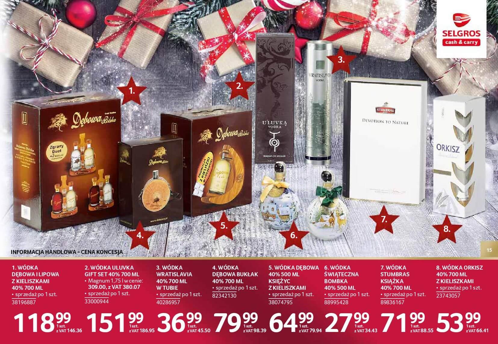 Gazetka Selgros - Katalog prezenty 2017-20.11.2017-24.12.2017-page-15