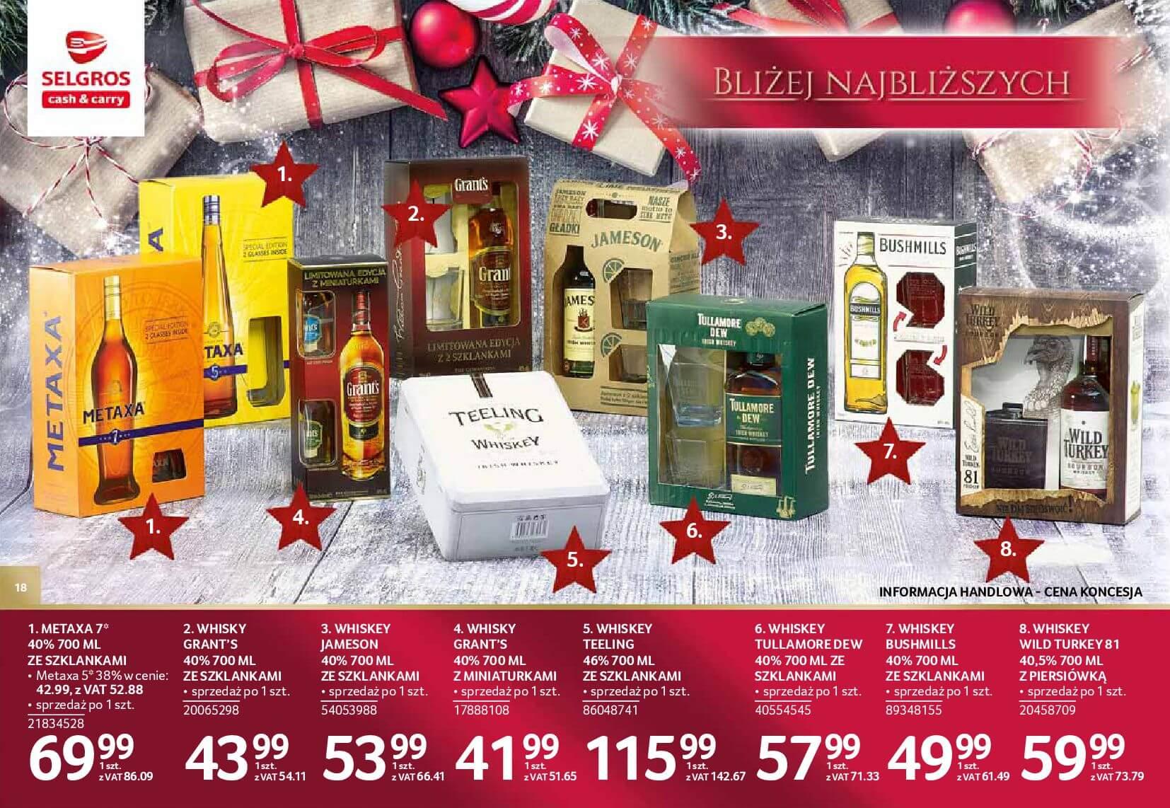 Gazetka Selgros - Katalog prezenty 2017-20.11.2017-24.12.2017-page-18
