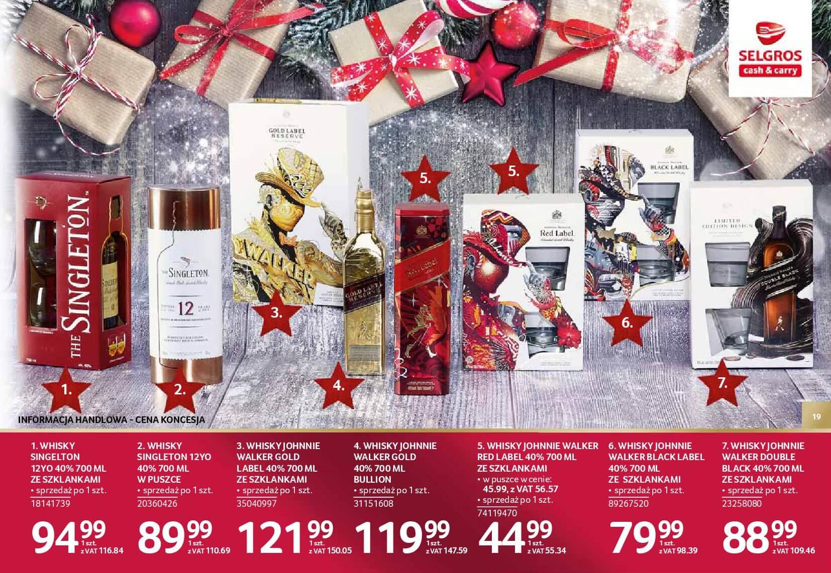 Gazetka Selgros - Katalog prezenty 2017-20.11.2017-24.12.2017-page-19