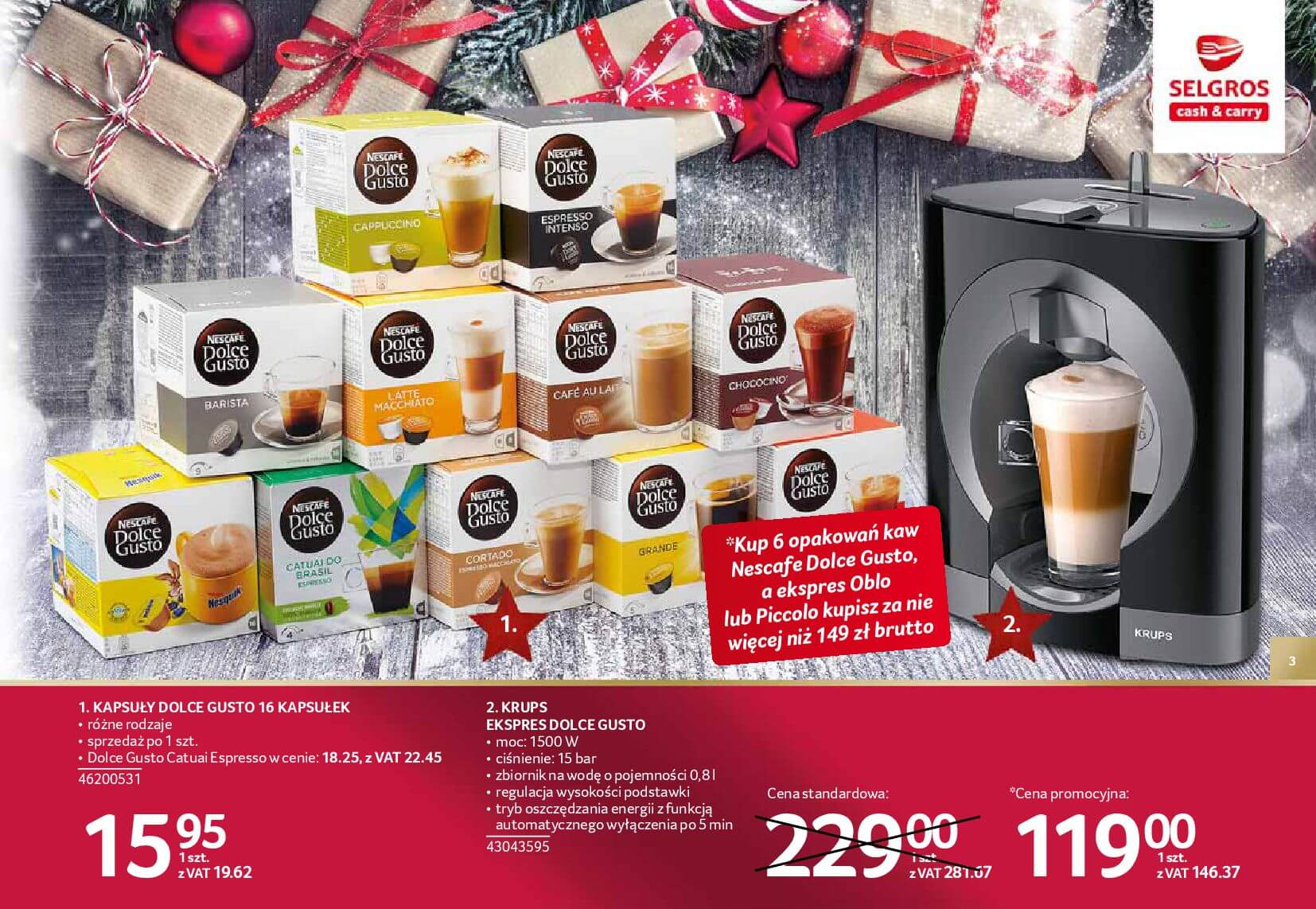 Gazetka Selgros - Katalog prezenty 2017-20.11.2017-24.12.2017-page-3