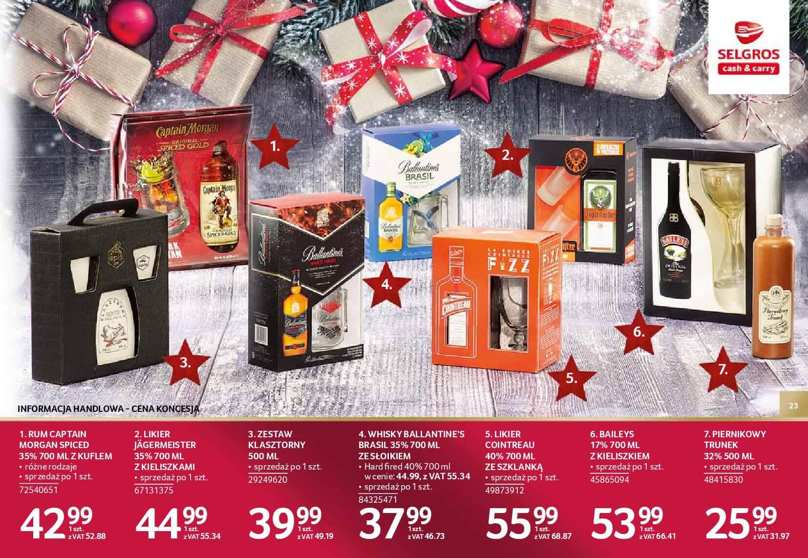 Gazetka Selgros - Katalog prezenty 2017-20.11.2017-24.12.2017-page-23