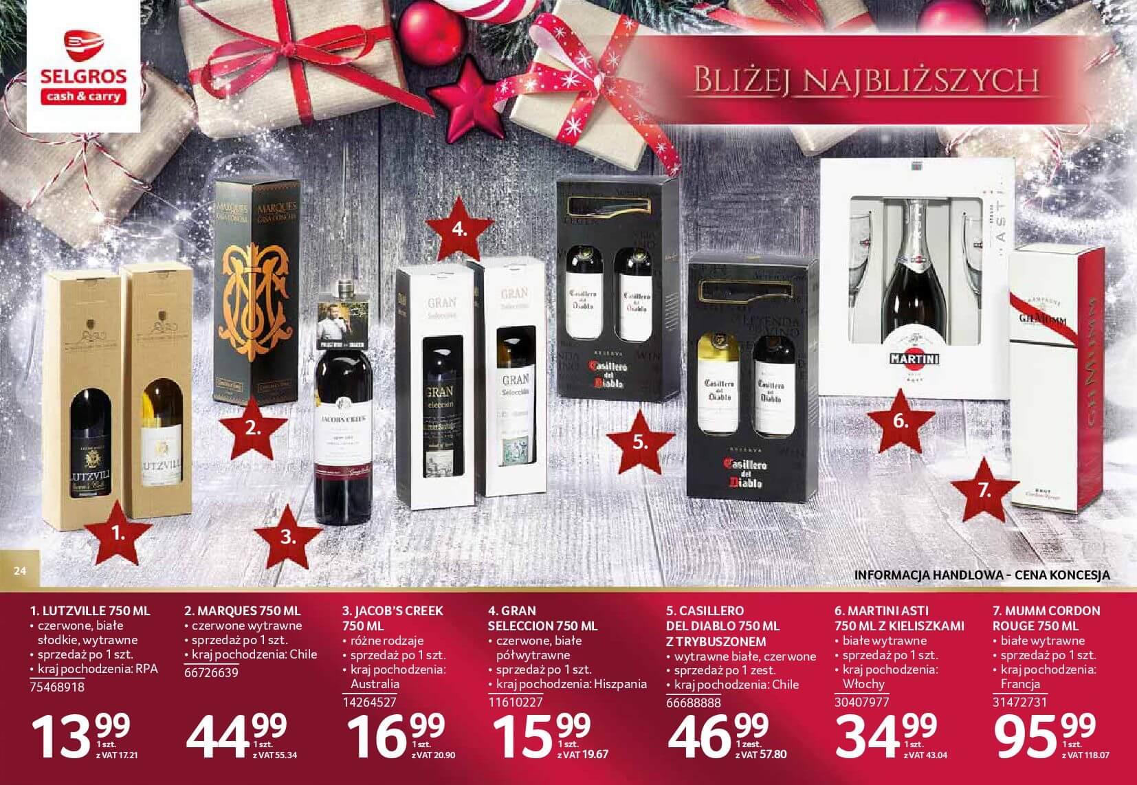 Gazetka Selgros - Katalog prezenty 2017-20.11.2017-24.12.2017-page-24