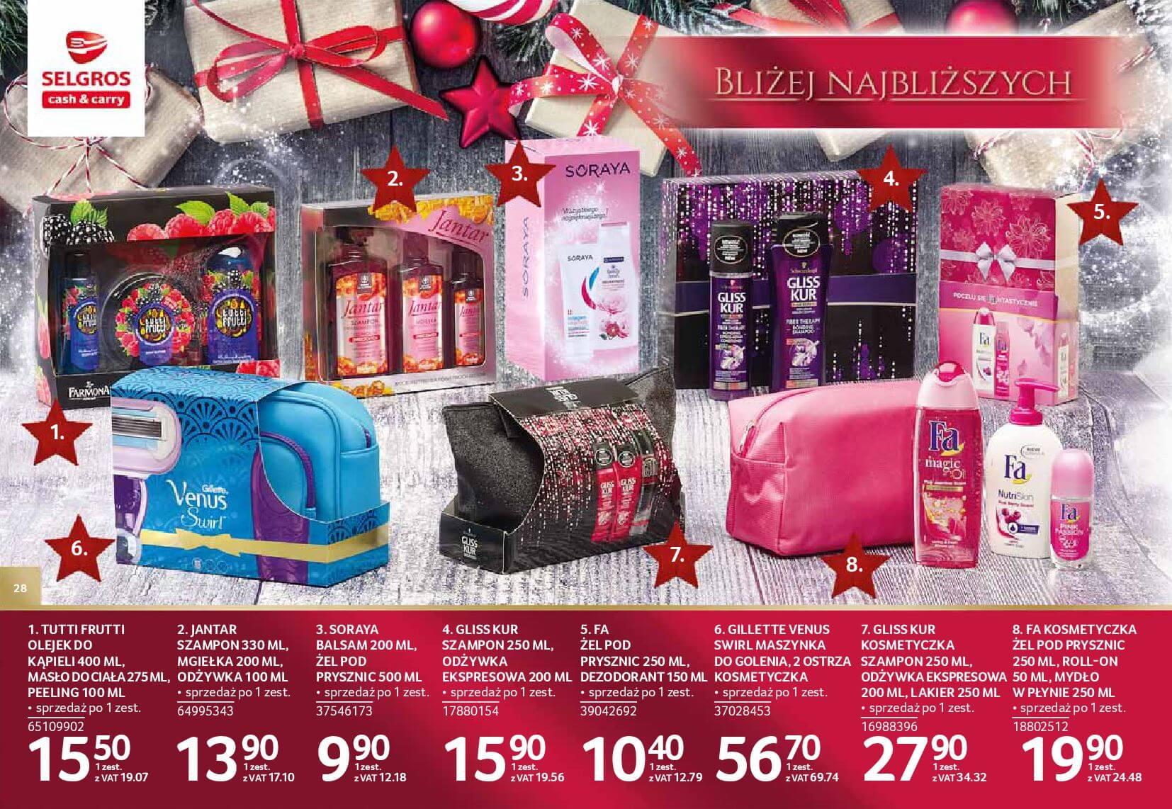 Gazetka Selgros - Katalog prezenty 2017-20.11.2017-24.12.2017-page-28