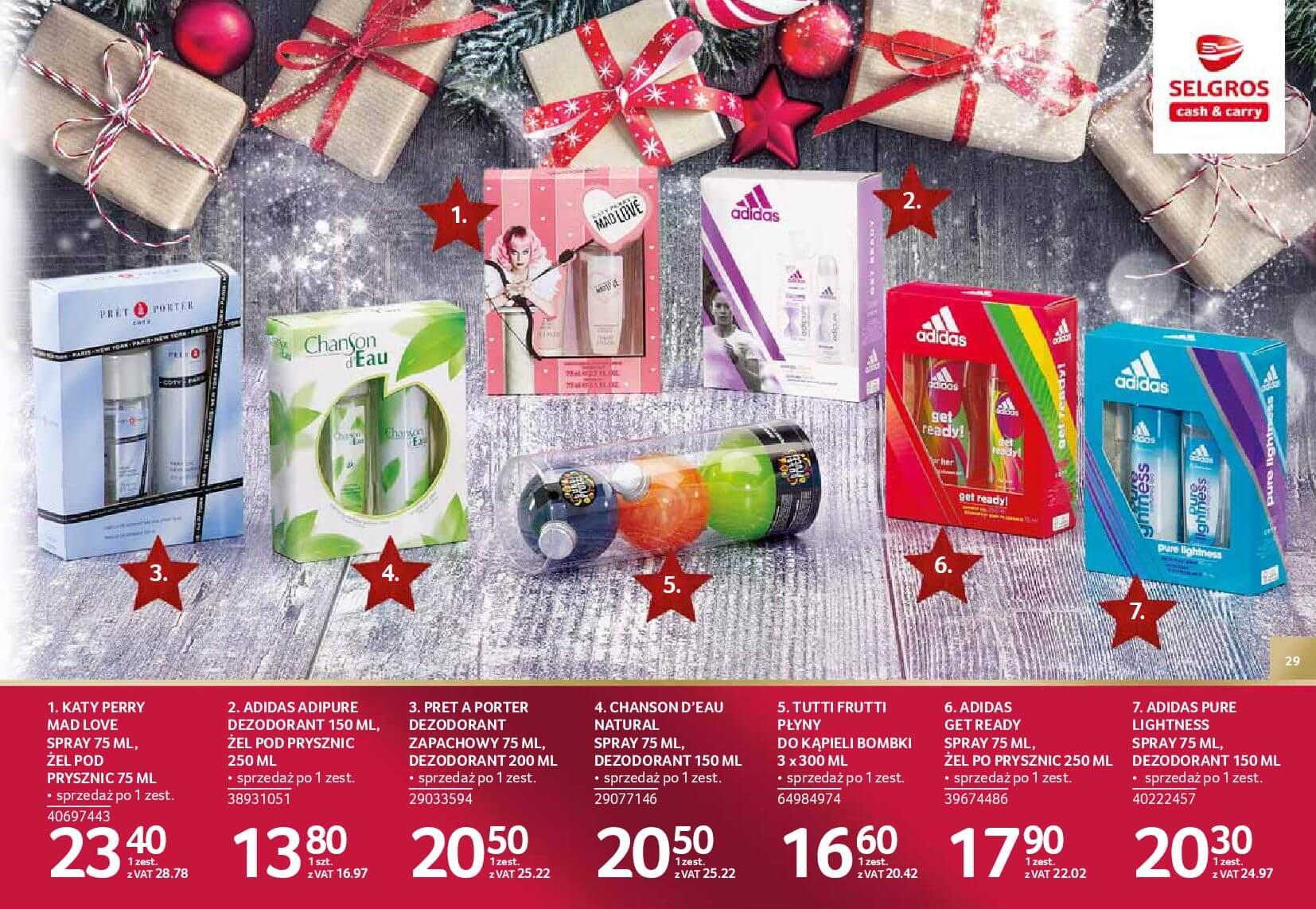Gazetka Selgros - Katalog prezenty 2017-20.11.2017-24.12.2017-page-29