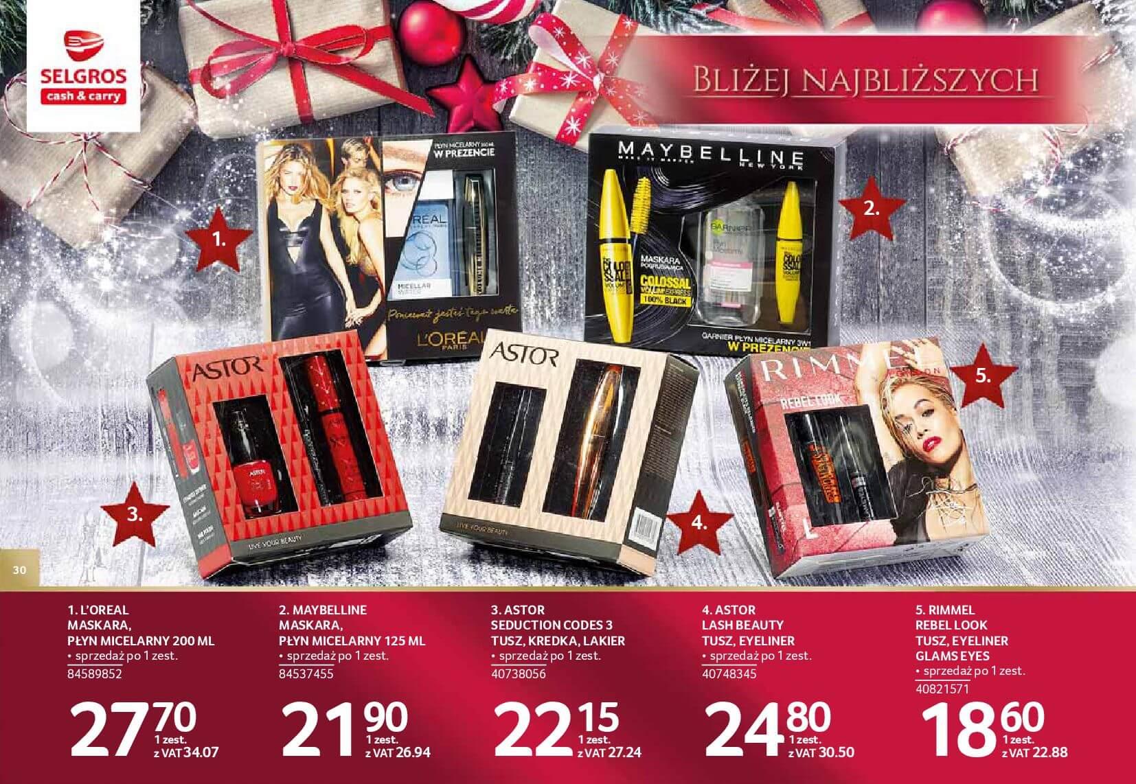Gazetka Selgros - Katalog prezenty 2017-20.11.2017-24.12.2017-page-30