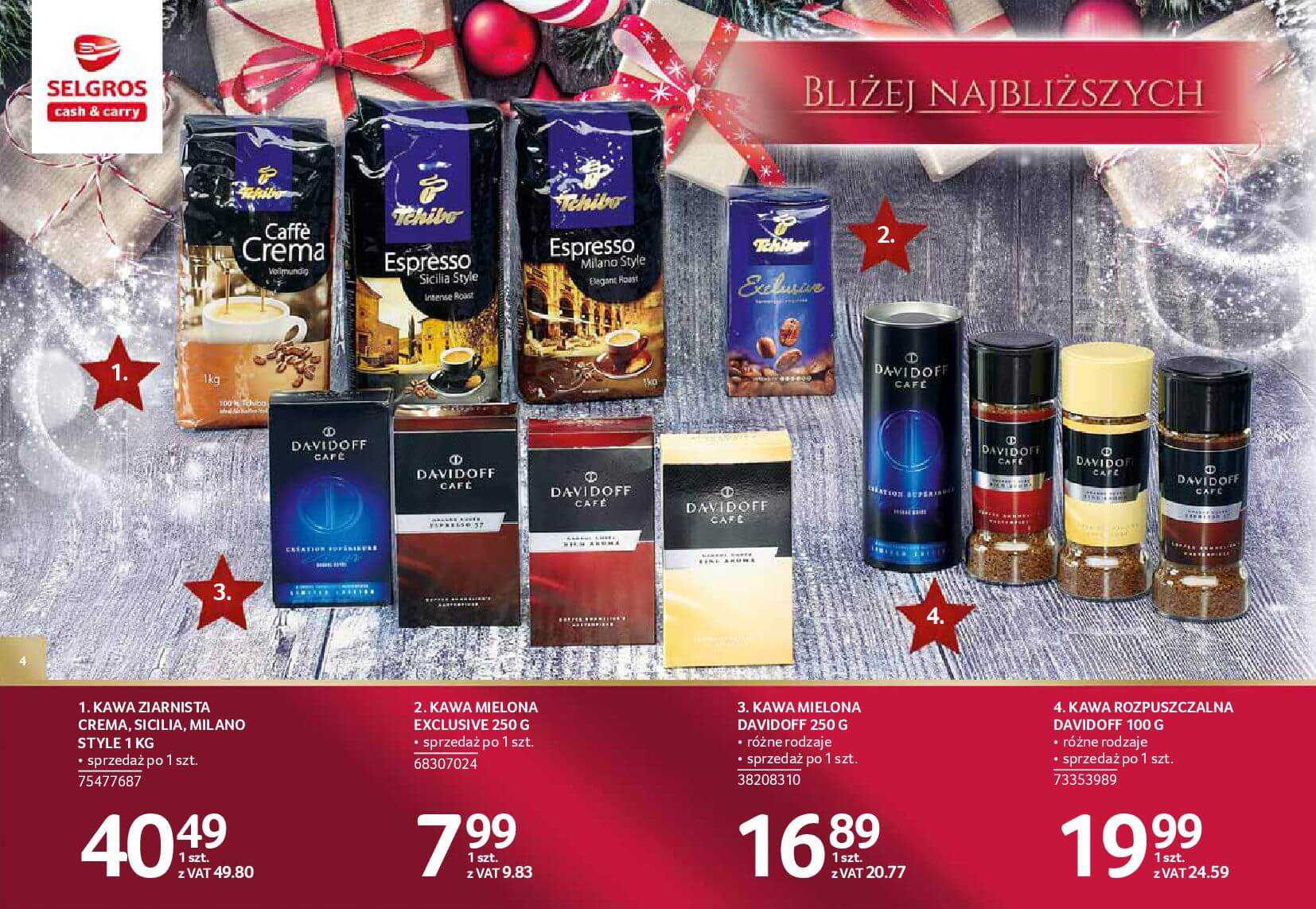 Gazetka Selgros - Katalog prezenty 2017-20.11.2017-24.12.2017-page-4