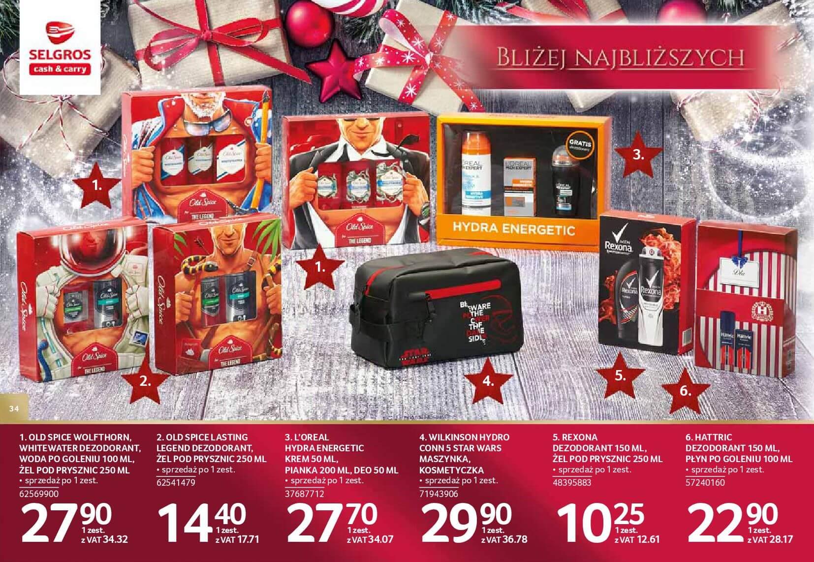 Gazetka Selgros - Katalog prezenty 2017-20.11.2017-24.12.2017-page-34