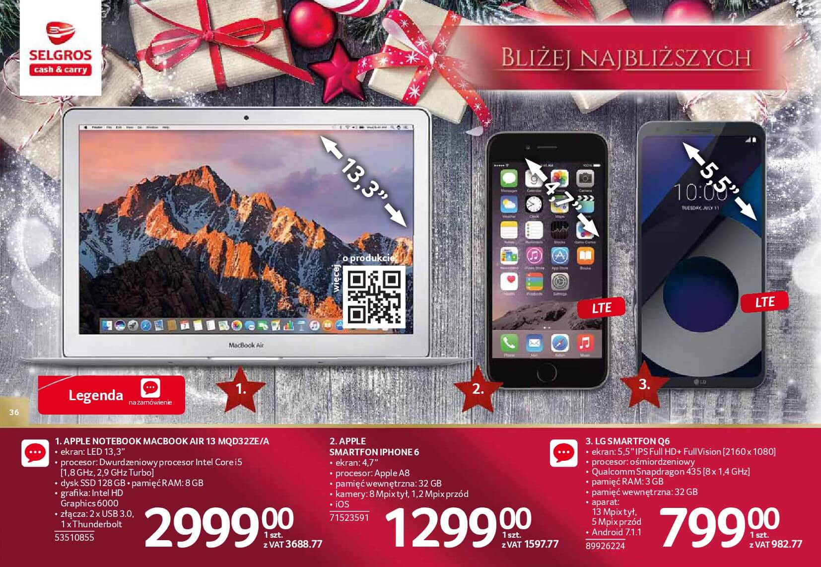 Gazetka Selgros - Katalog prezenty 2017-20.11.2017-24.12.2017-page-36