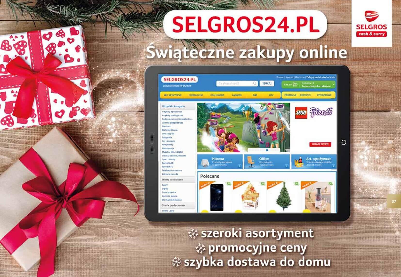 Gazetka Selgros - Katalog prezenty 2017-20.11.2017-24.12.2017-page-37