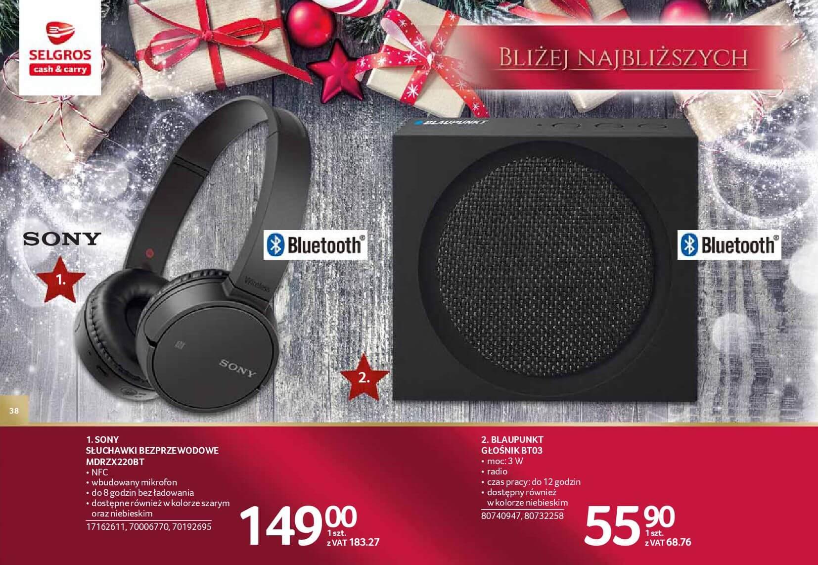 Gazetka Selgros - Katalog prezenty 2017-20.11.2017-24.12.2017-page-38