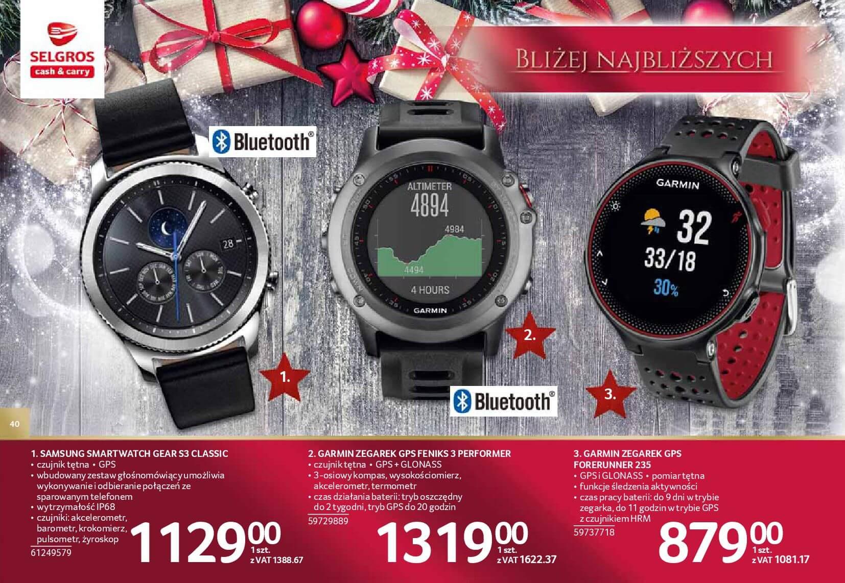 Gazetka Selgros - Katalog prezenty 2017-20.11.2017-24.12.2017-page-40