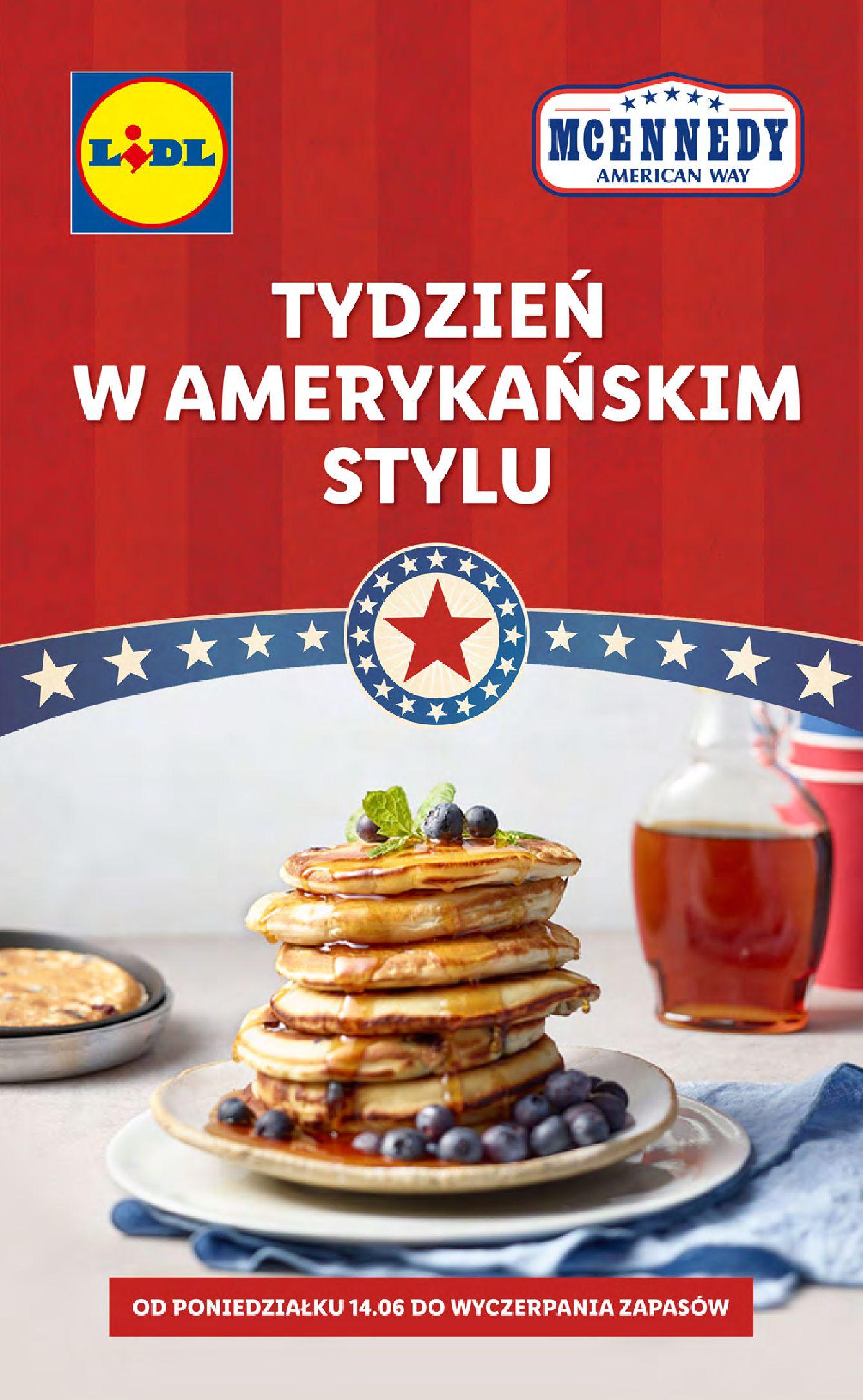 Gazetka Lidl: Gazetka Lidl - Tydzień w amerykańskim stylu - 13.06.2021