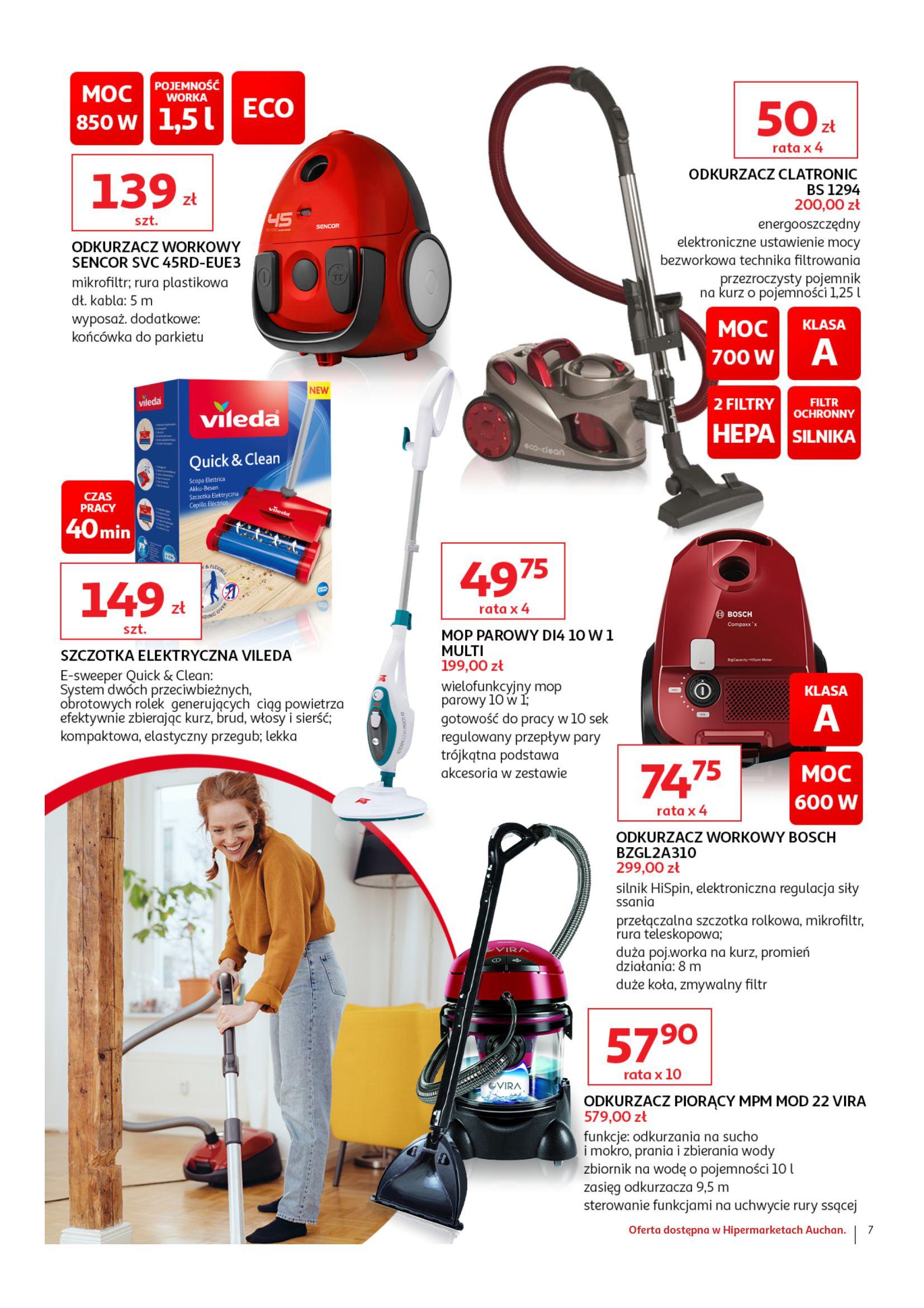 Gazetka Auchan - AGD w Twoim domu Hipermarkety-10.04.2019-20.04.2019-page-