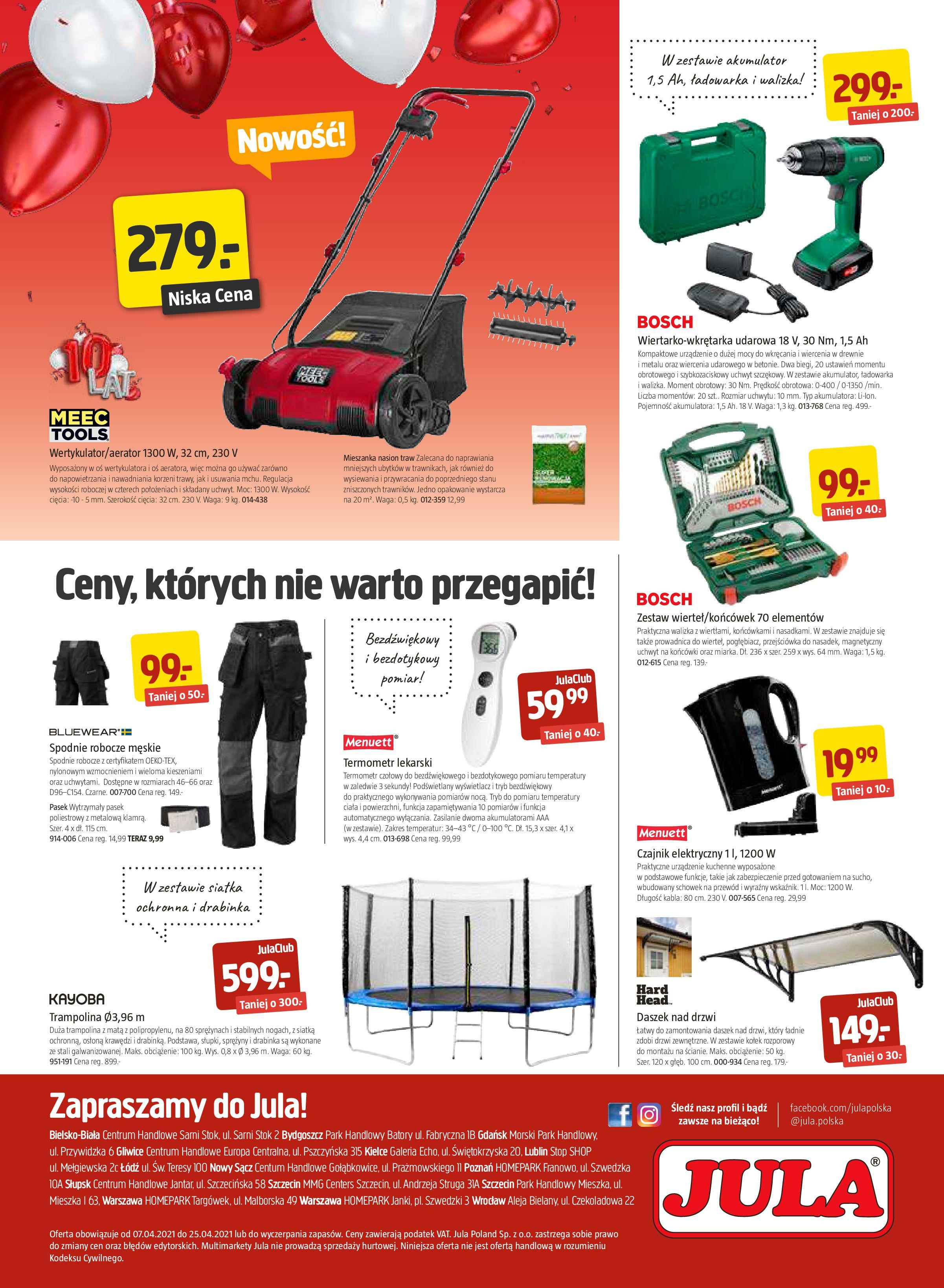 Gazetka Jula: Gazetka promocyjna od 07.04 2021-04-07 page-8