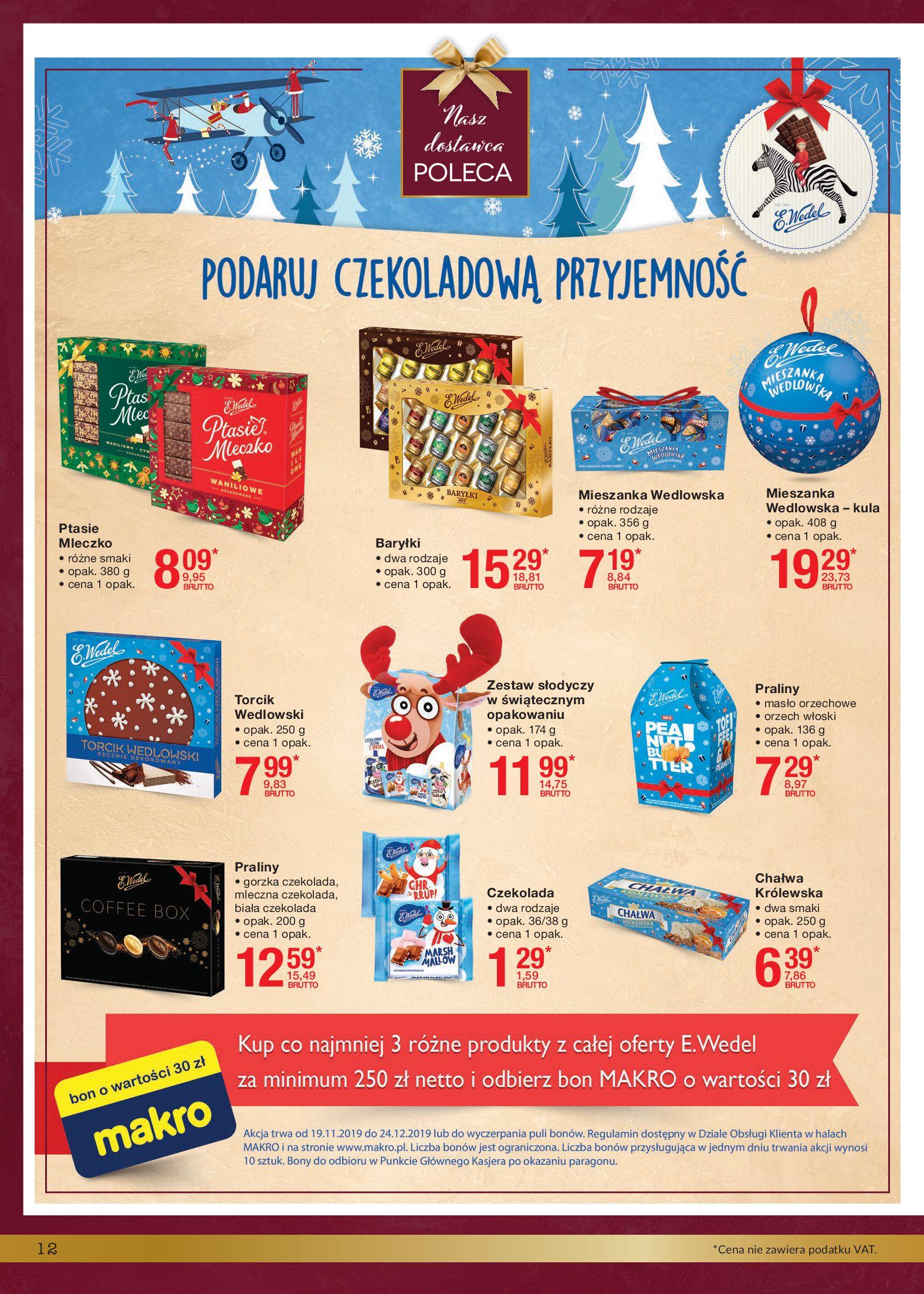 Gazetka Makro - Smakuj Święta-18.11.2019-24.12.2019-page-12